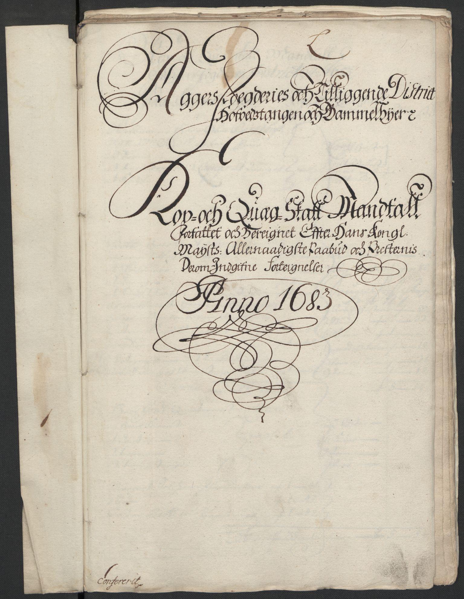 RA, Rentekammeret inntil 1814, Reviderte regnskaper, Fogderegnskap, R08/L0420: Fogderegnskap Aker, 1682-1691, s. 281
