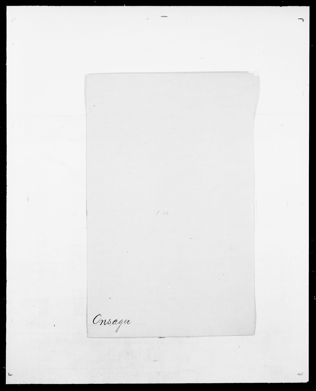 SAO, Delgobe, Charles Antoine - samling, D/Da/L0029: Obel - Oxholm, s. 290