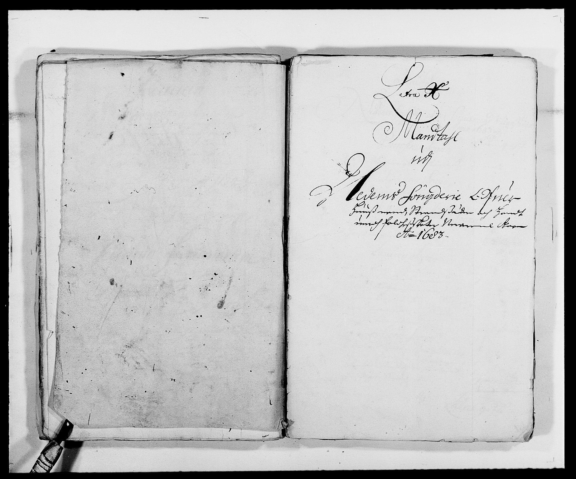 RA, Rentekammeret inntil 1814, Reviderte regnskaper, Fogderegnskap, R39/L2305: Fogderegnskap Nedenes, 1683, s. 123