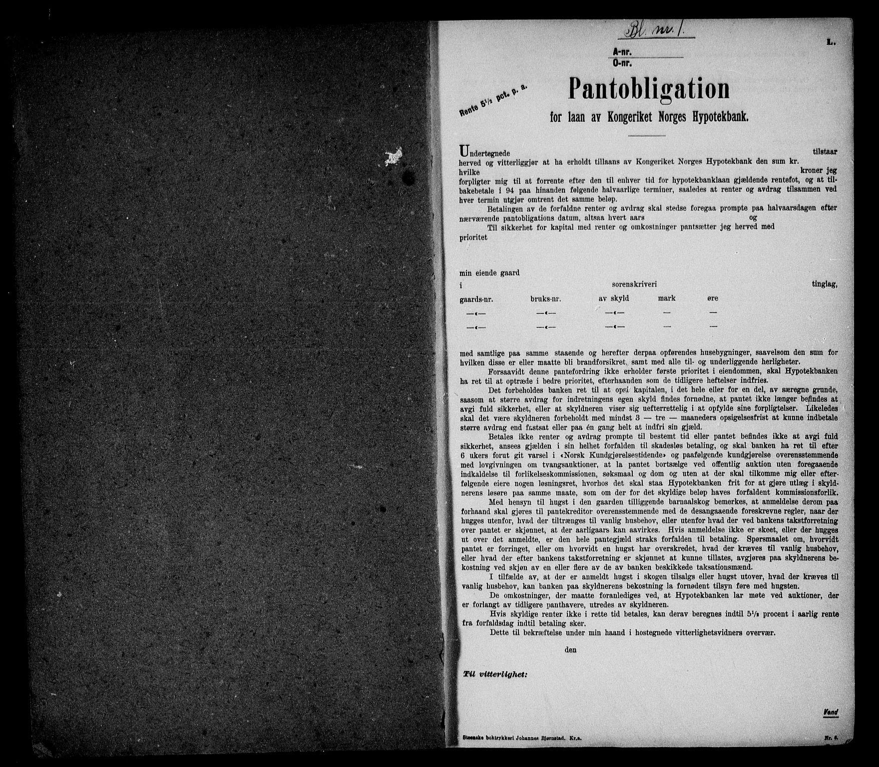 SAO, Onsøy sorenskriveri, G/Ga/Gaa/L0052: Pantebok nr. I 52, 1924-1925, s. 1