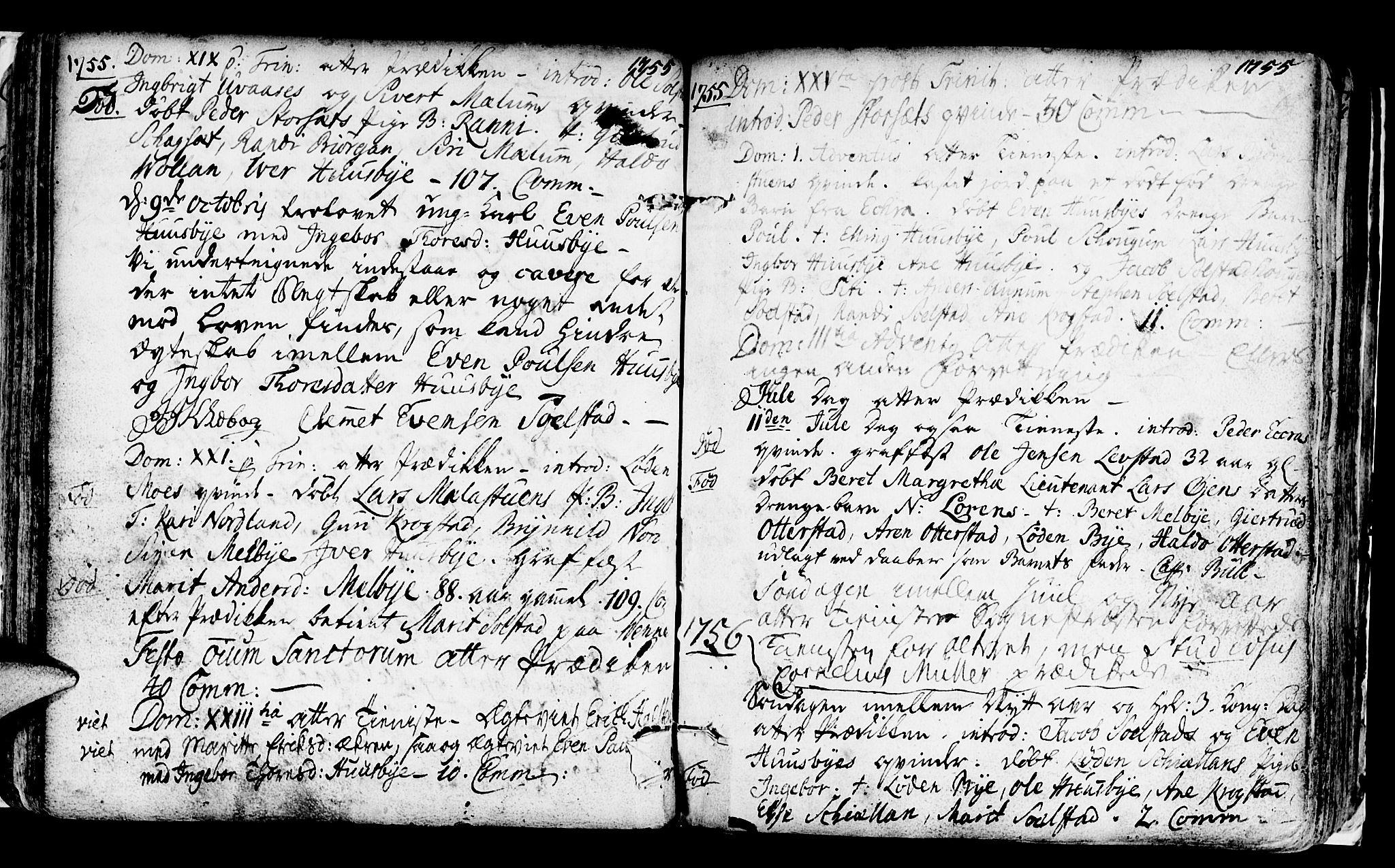 SAT, Ministerialprotokoller, klokkerbøker og fødselsregistre - Sør-Trøndelag, 667/L0793: Ministerialbok nr. 667A01, 1742-1790