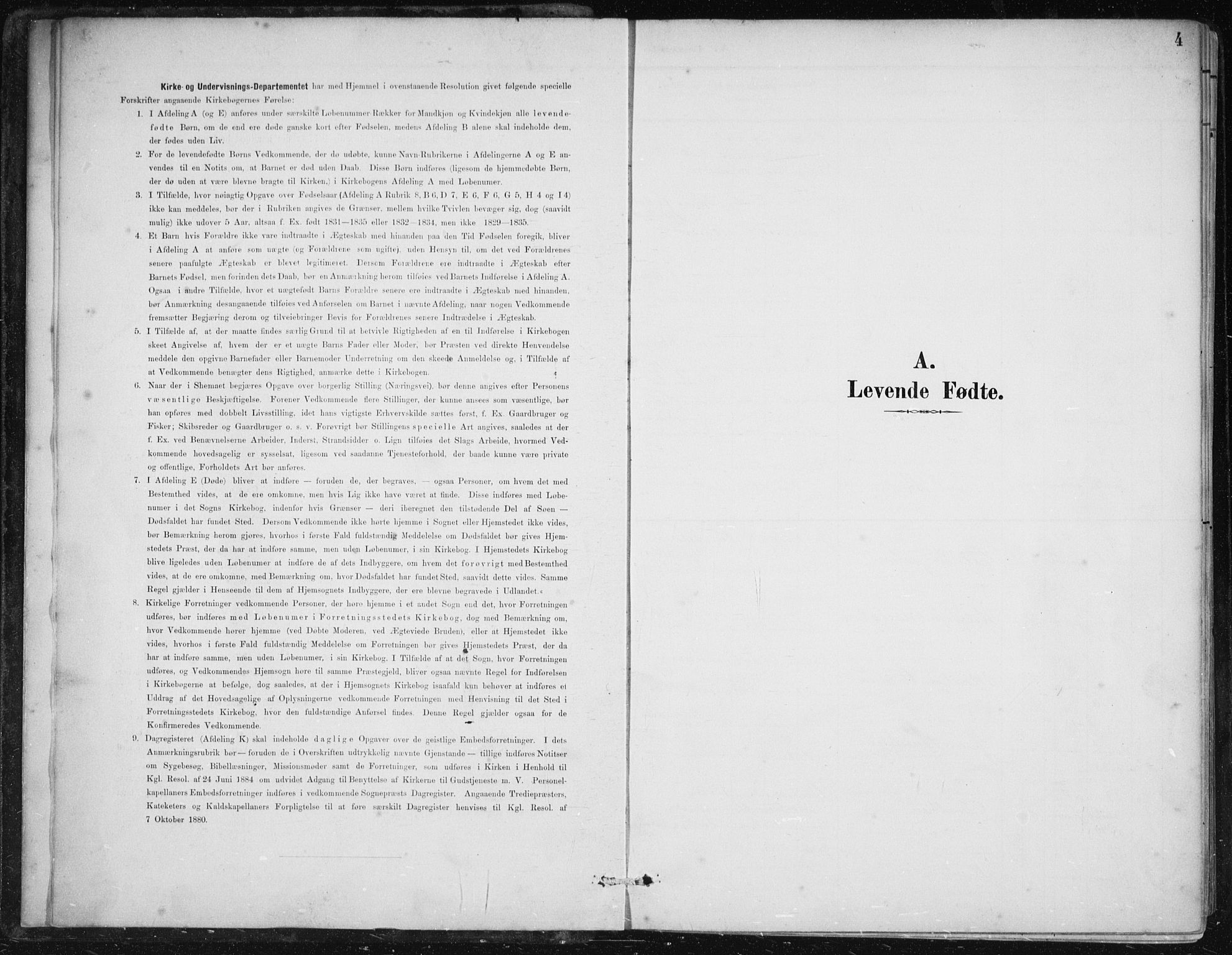 SAB, Herdla Sokneprestembete, H/Haa: Ministerialbok nr. A 4, 1891-1905, s. 4