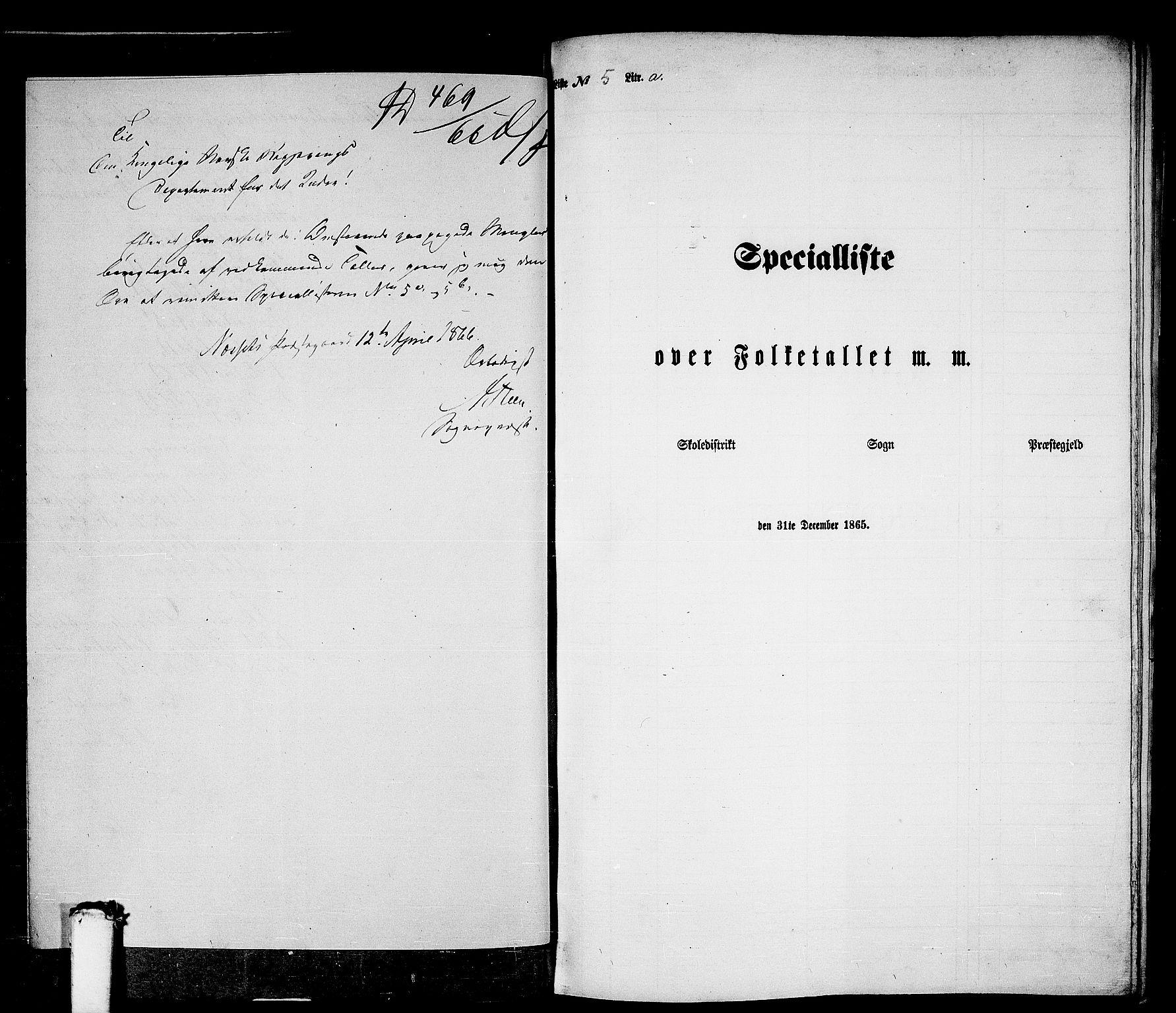 RA, Folketelling 1865 for 1543P Nesset prestegjeld, 1865, s. 96