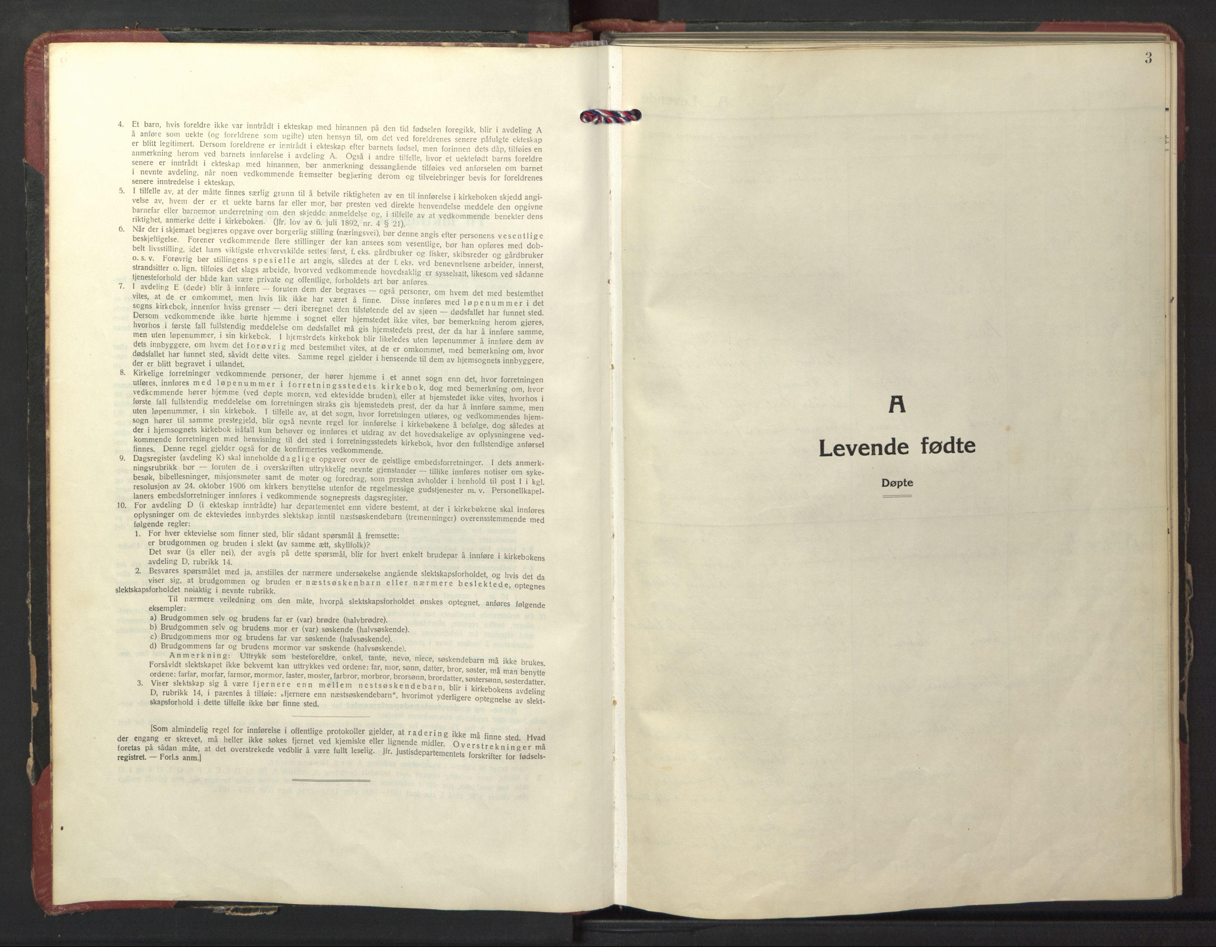 SAT, Ministerialprotokoller, klokkerbøker og fødselsregistre - Nord-Trøndelag, 770/L0592: Klokkerbok nr. 770C03, 1941-1950, s. 3