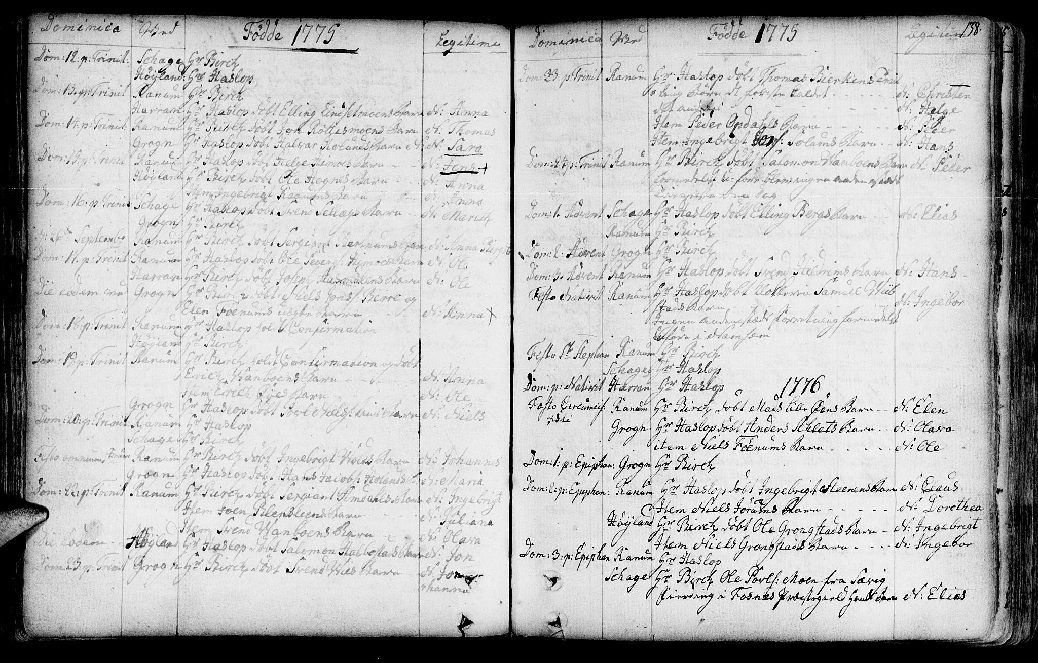 SAT, Ministerialprotokoller, klokkerbøker og fødselsregistre - Nord-Trøndelag, 764/L0542: Ministerialbok nr. 764A02, 1748-1779, s. 138