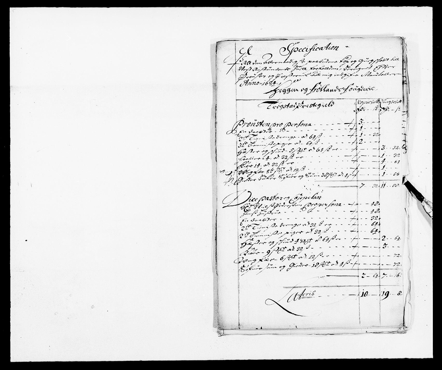 RA, Rentekammeret inntil 1814, Reviderte regnskaper, Fogderegnskap, R06/L0280: Fogderegnskap Heggen og Frøland, 1681-1684, s. 478