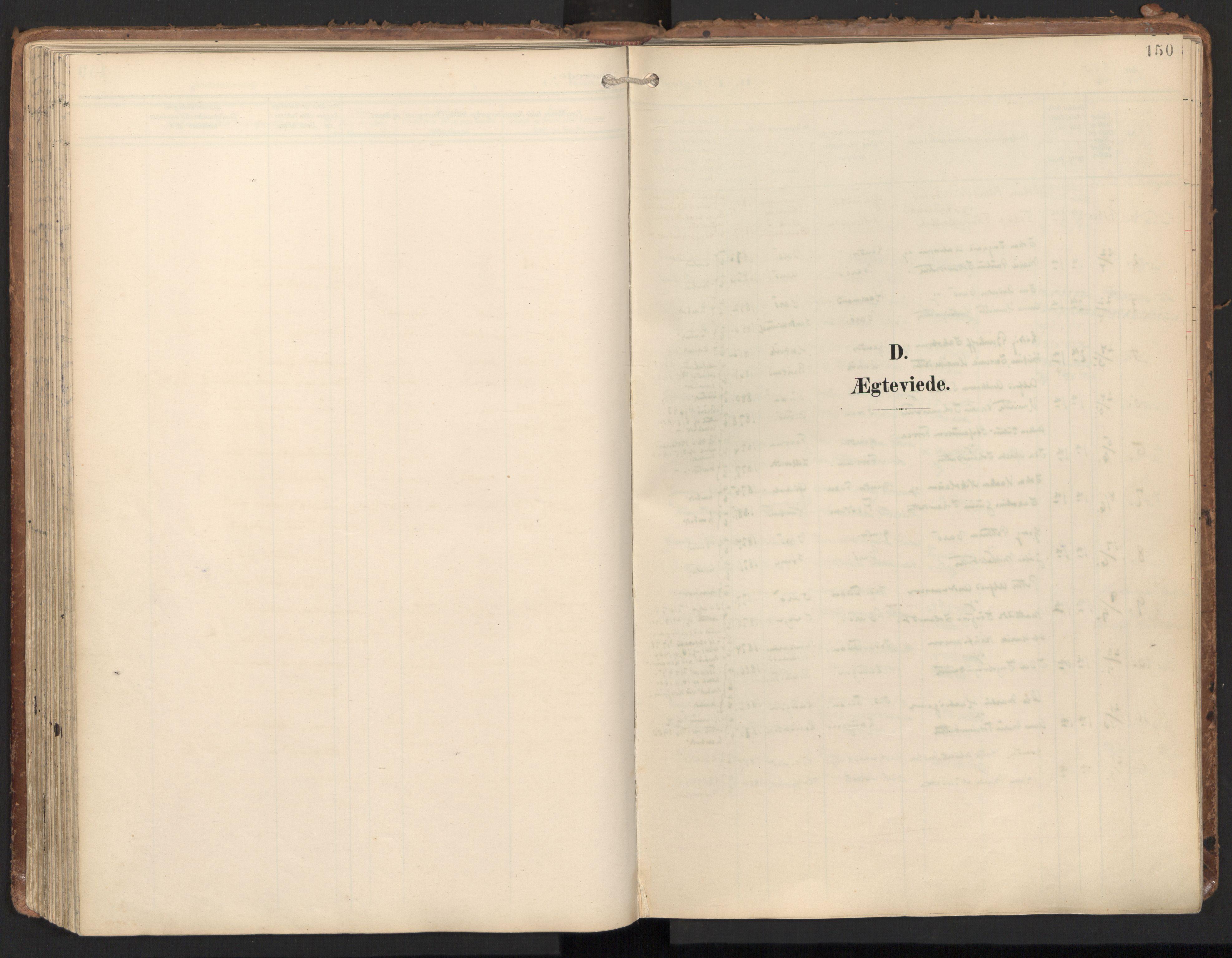 SAT, Ministerialprotokoller, klokkerbøker og fødselsregistre - Nord-Trøndelag, 784/L0677: Ministerialbok nr. 784A12, 1900-1920, s. 150