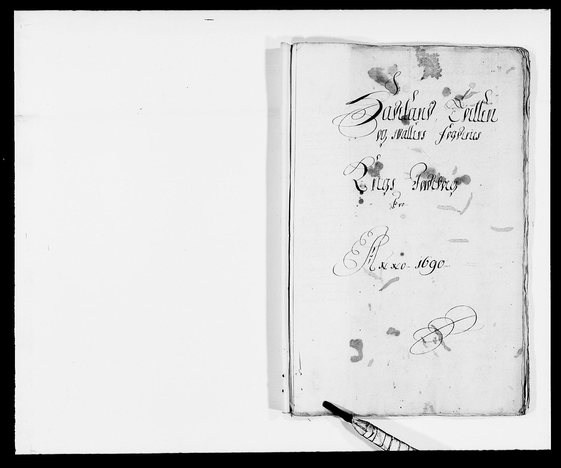 RA, Rentekammeret inntil 1814, Reviderte regnskaper, Fogderegnskap, R18/L1289: Fogderegnskap Hadeland, Toten og Valdres, 1690, s. 228