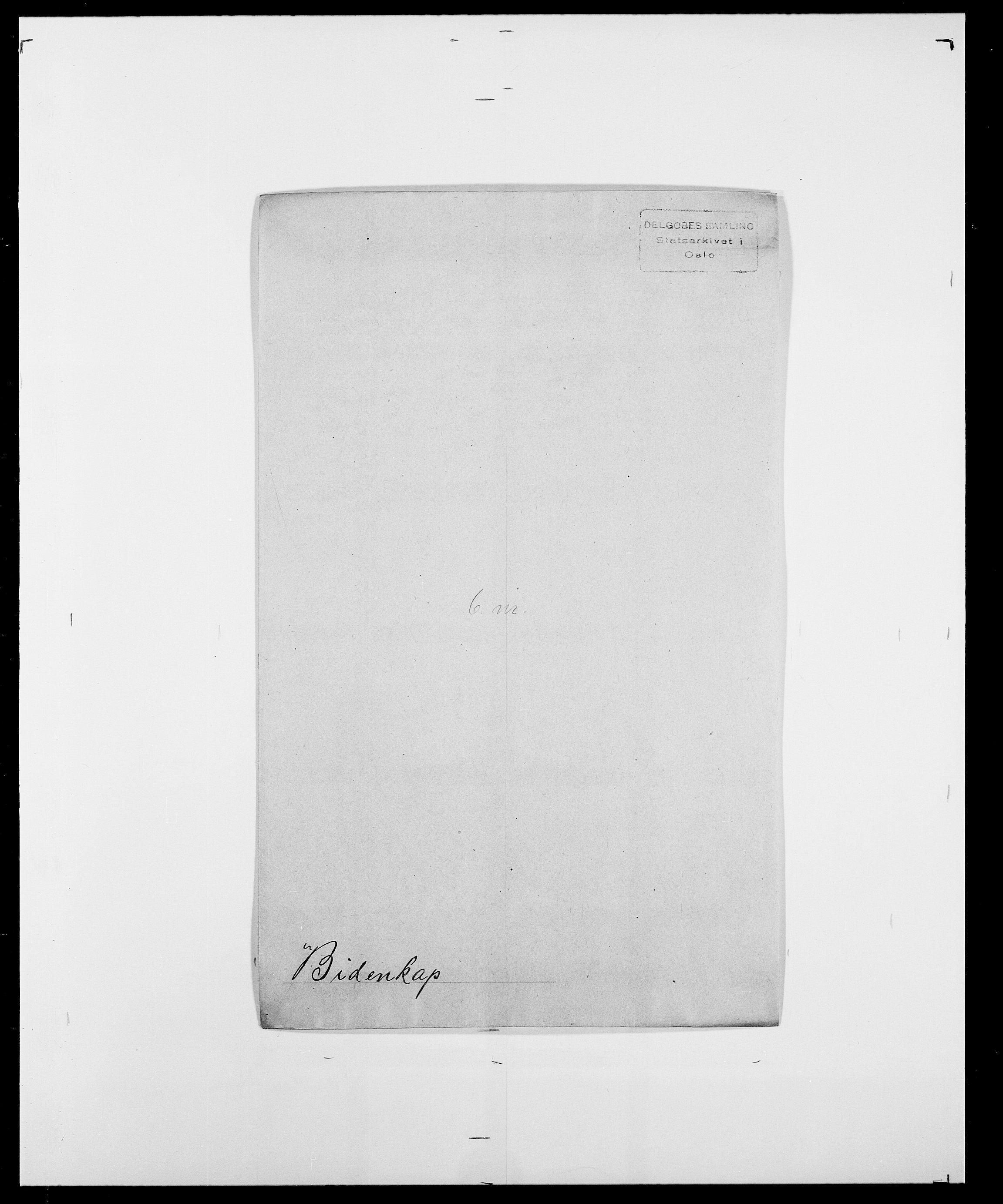 SAO, Delgobe, Charles Antoine - samling, D/Da/L0004: Bergendahl - Blære, s. 173