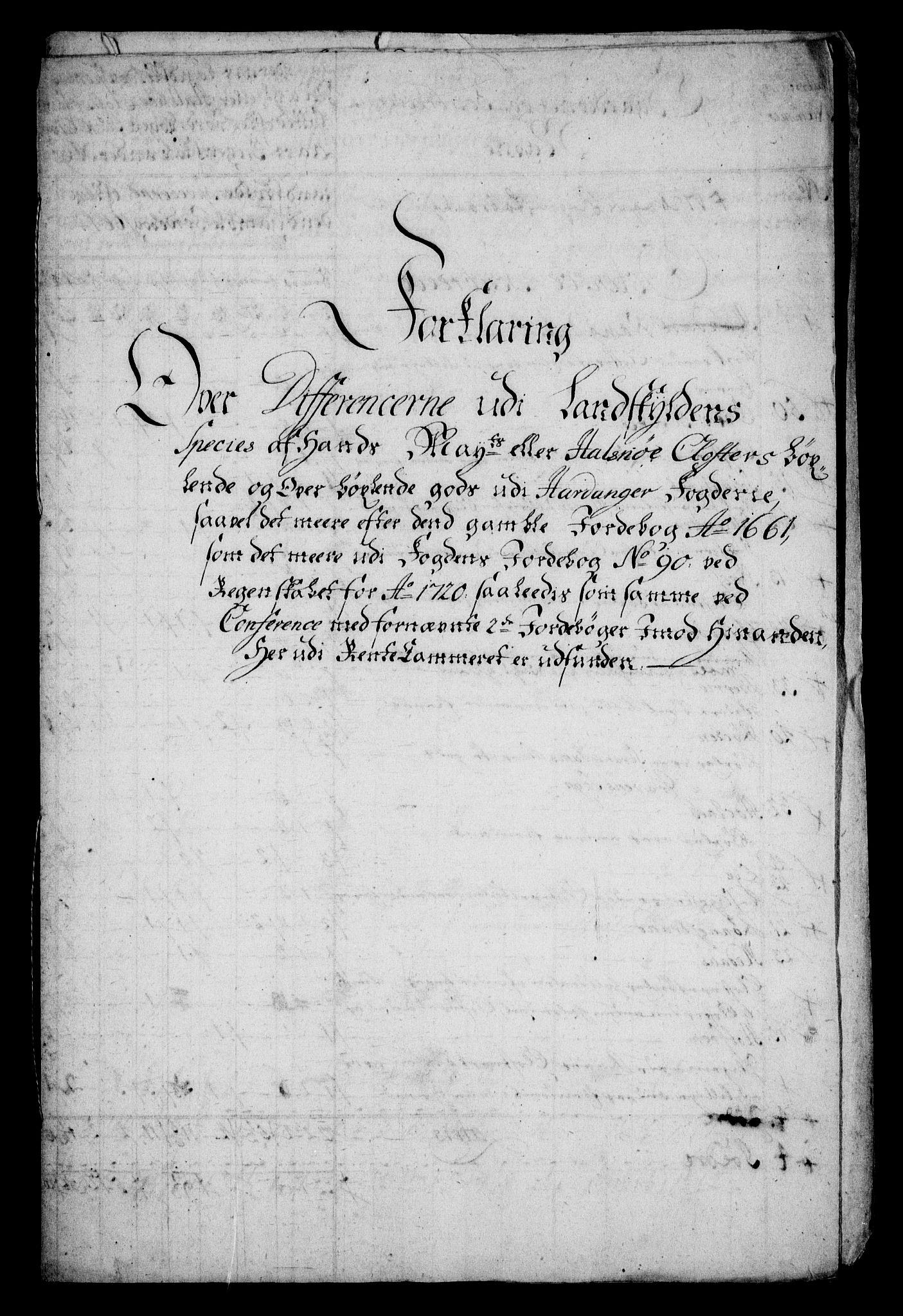 RA, Rentekammeret inntil 1814, Realistisk ordnet avdeling, On/L0005: [Jj 6]: Forskjellige dokumenter om Halsnøy klosters gods, 1697-1770, s. 401