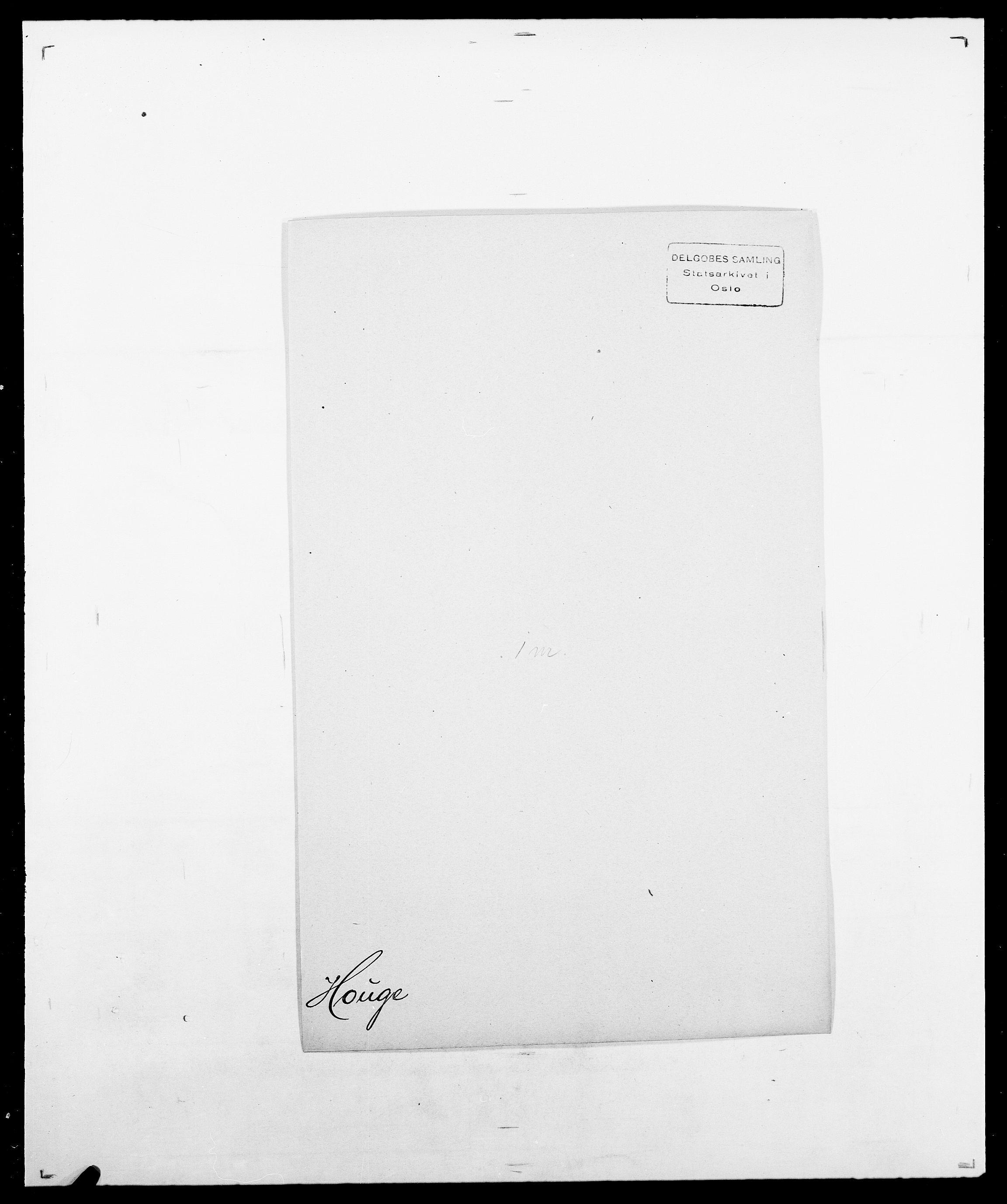 SAO, Delgobe, Charles Antoine - samling, D/Da/L0018: Hoch - Howert, s. 1015