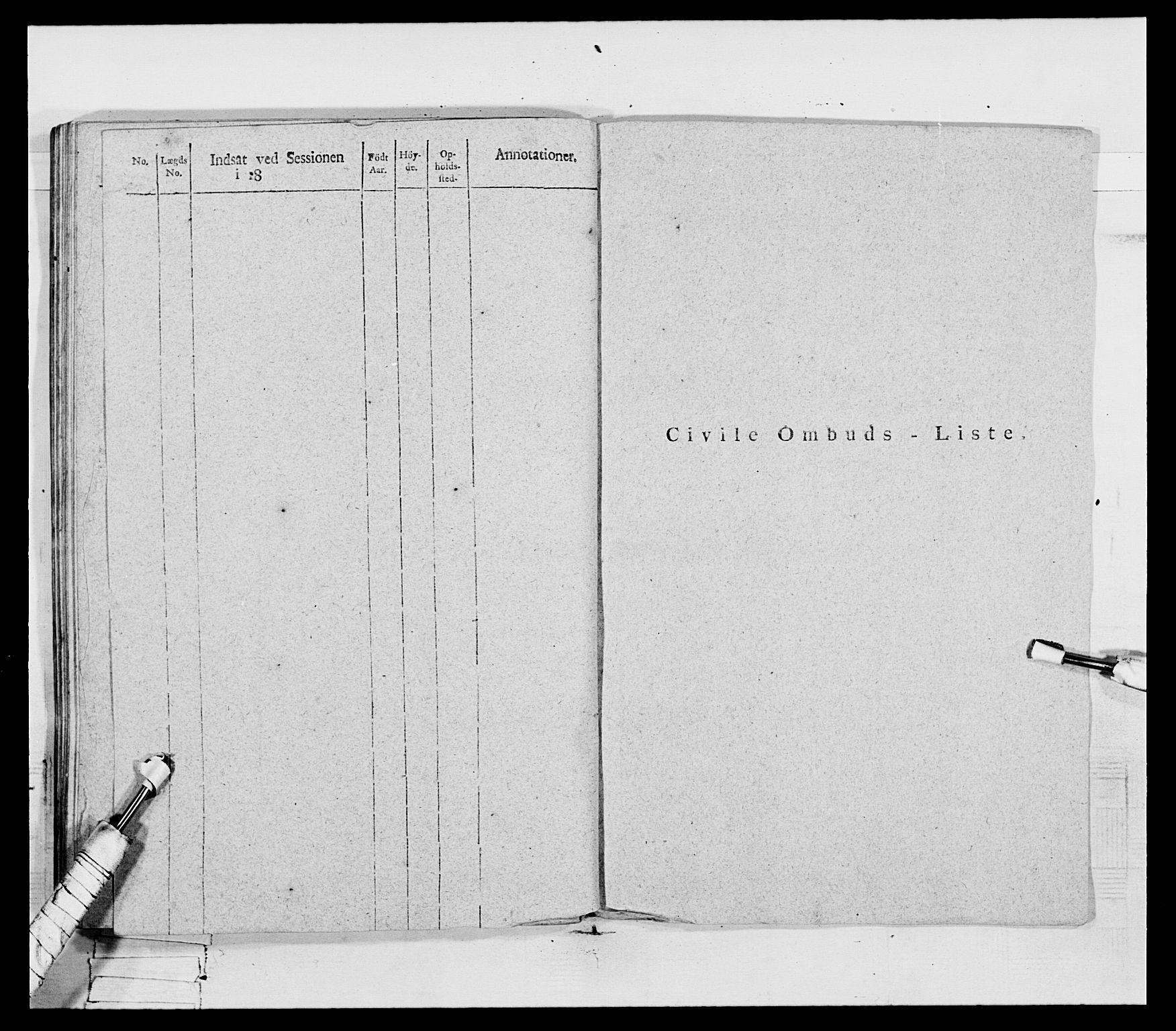 RA, Generalitets- og kommissariatskollegiet, Det kongelige norske kommissariatskollegium, E/Eh/L0069: Opplandske gevorbne infanteriregiment, 1810-1818, s. 154