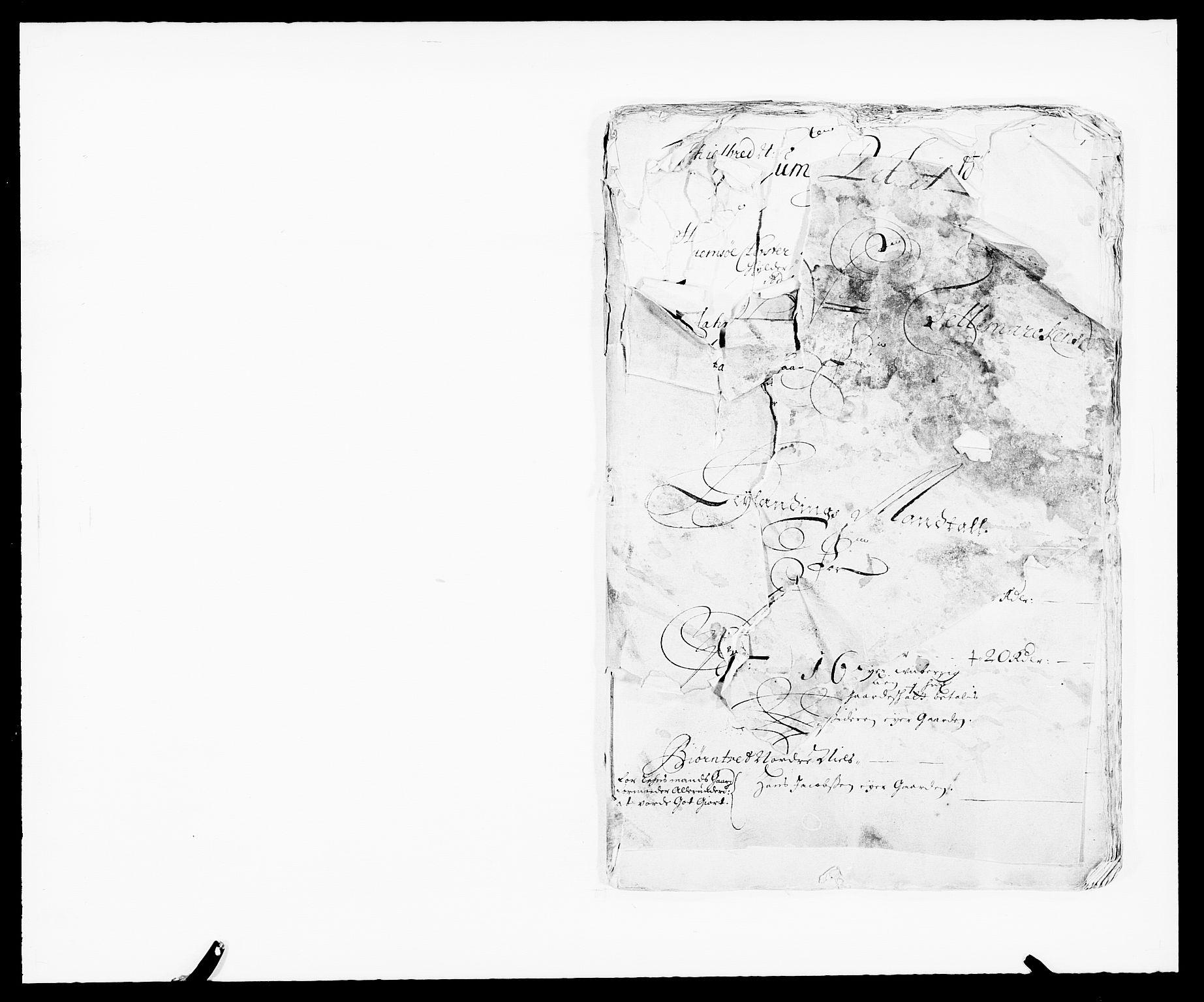 RA, Rentekammeret inntil 1814, Reviderte regnskaper, Fogderegnskap, R35/L2063: Fogderegnskap Øvre og Nedre Telemark, 1675, s. 6