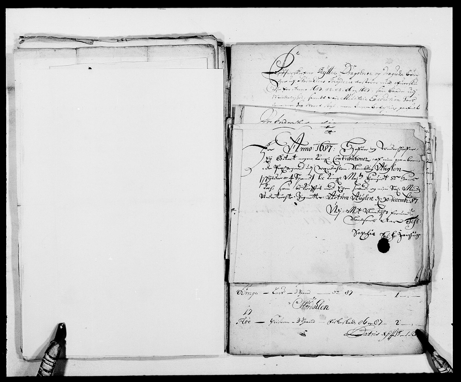 RA, Rentekammeret inntil 1814, Reviderte regnskaper, Fogderegnskap, R62/L4183: Fogderegnskap Stjørdal og Verdal, 1687-1689, s. 174