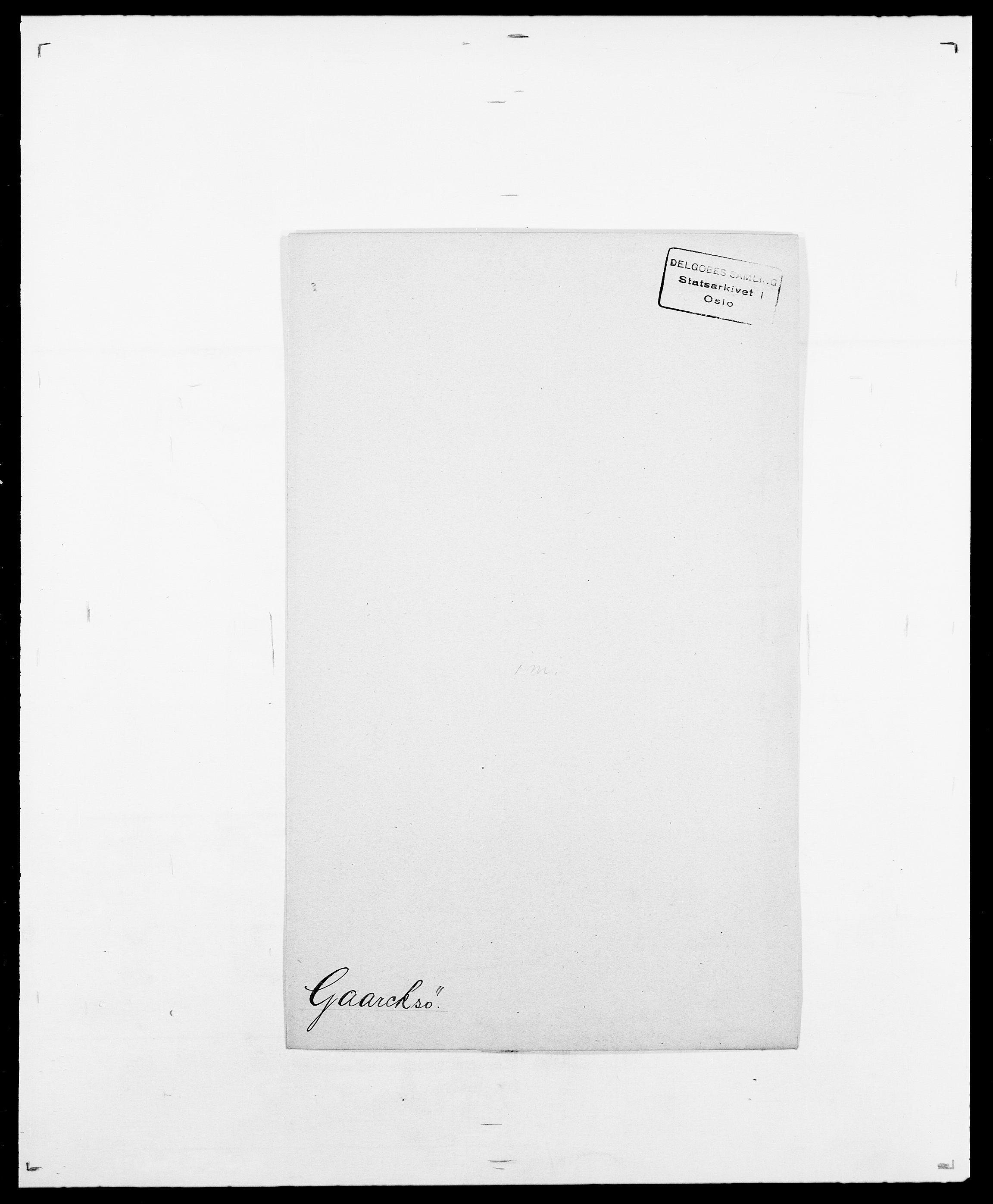 SAO, Delgobe, Charles Antoine - samling, D/Da/L0013: Forbos - Geving, s. 340