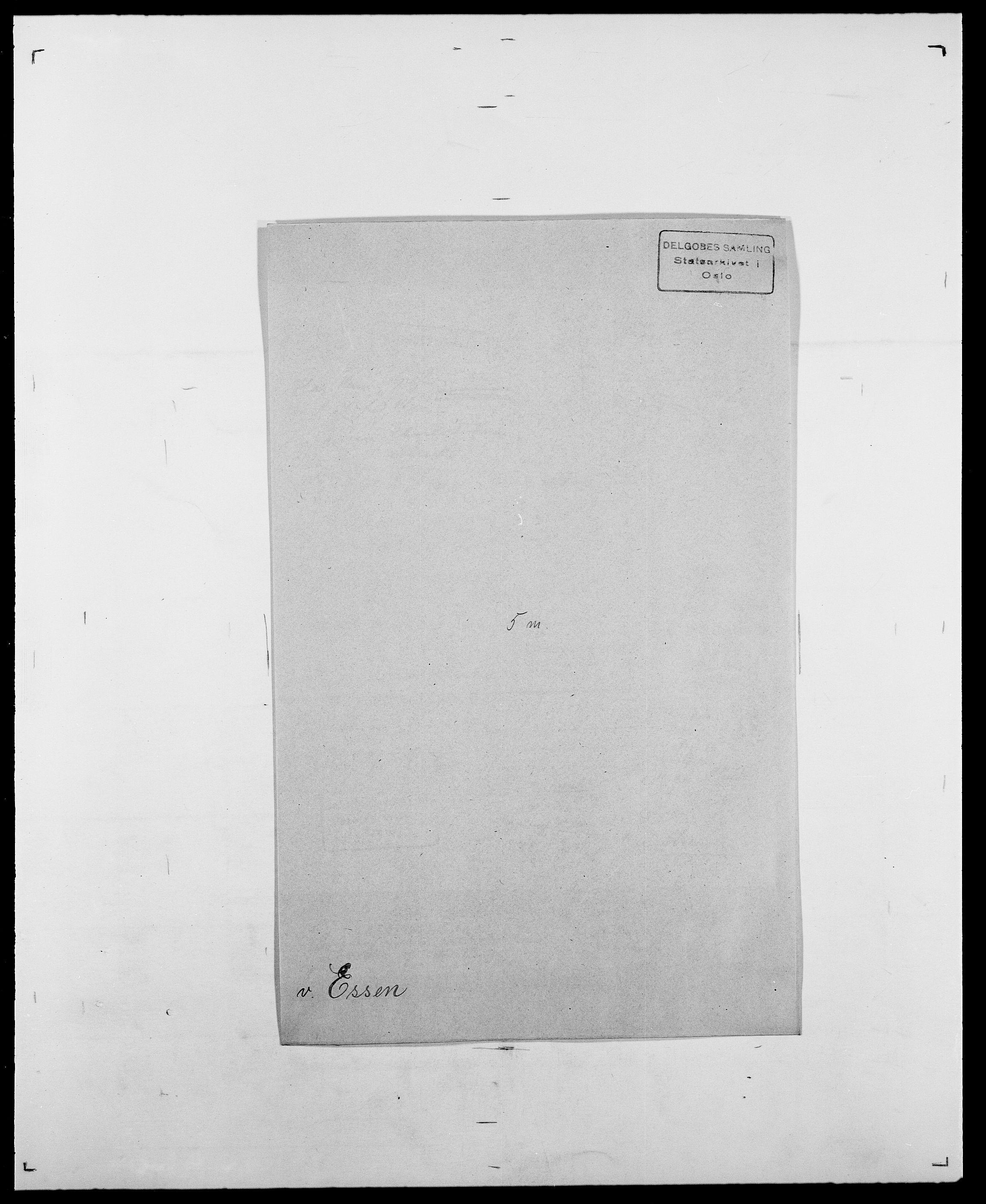 SAO, Delgobe, Charles Antoine - samling, D/Da/L0010: Dürendahl - Fagelund, s. 658