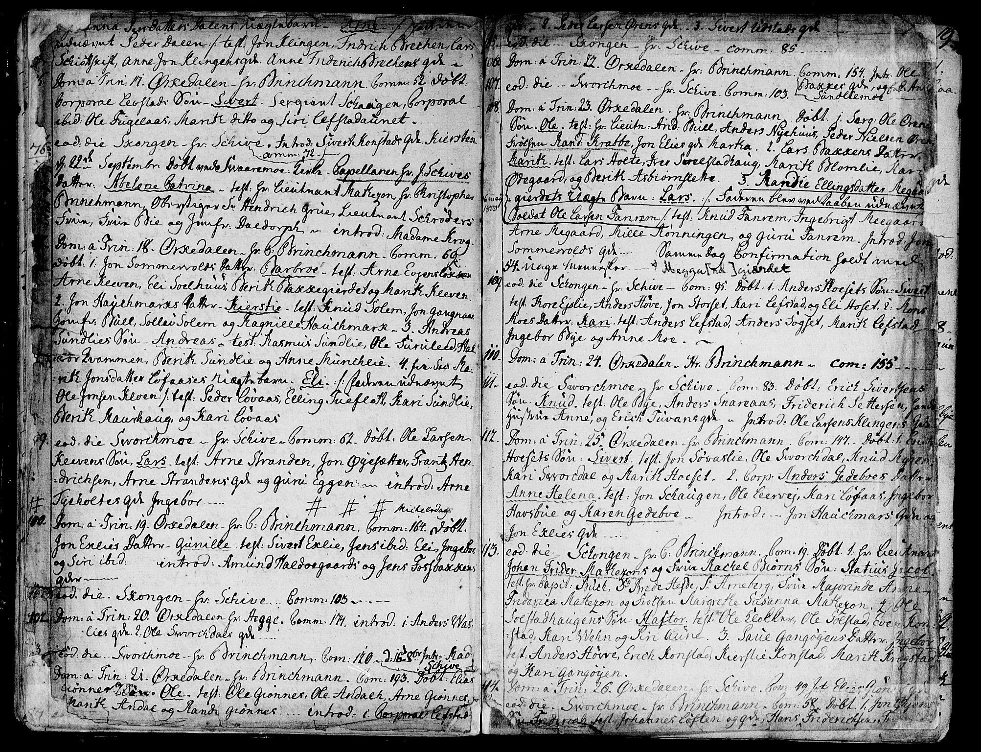SAT, Ministerialprotokoller, klokkerbøker og fødselsregistre - Sør-Trøndelag, 668/L0802: Ministerialbok nr. 668A02, 1776-1799, s. 16-17
