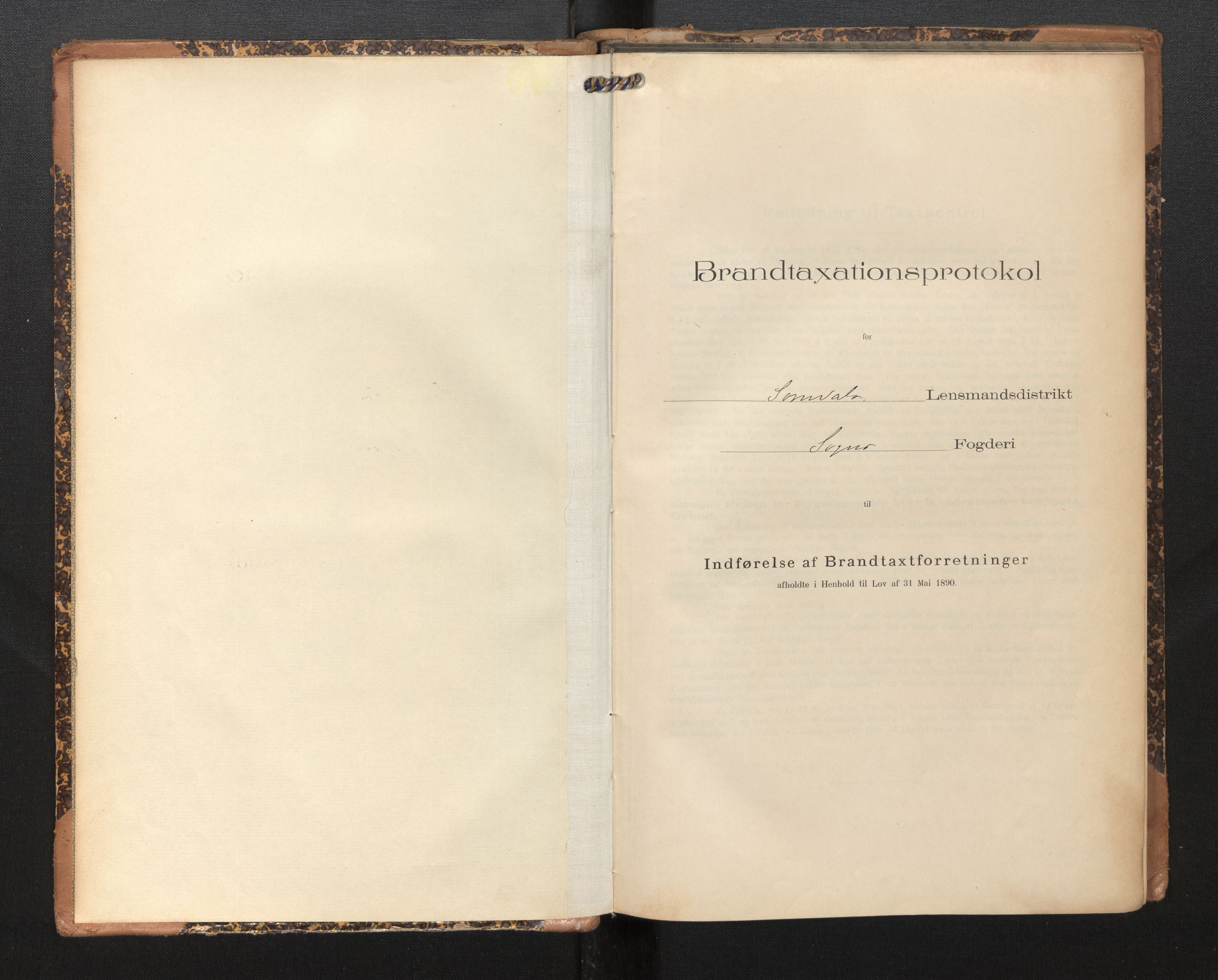 SAB, Lensmannen i Sogndal, 0012/L0010: Branntakstprotokoll, skjematakst, 1907-1914