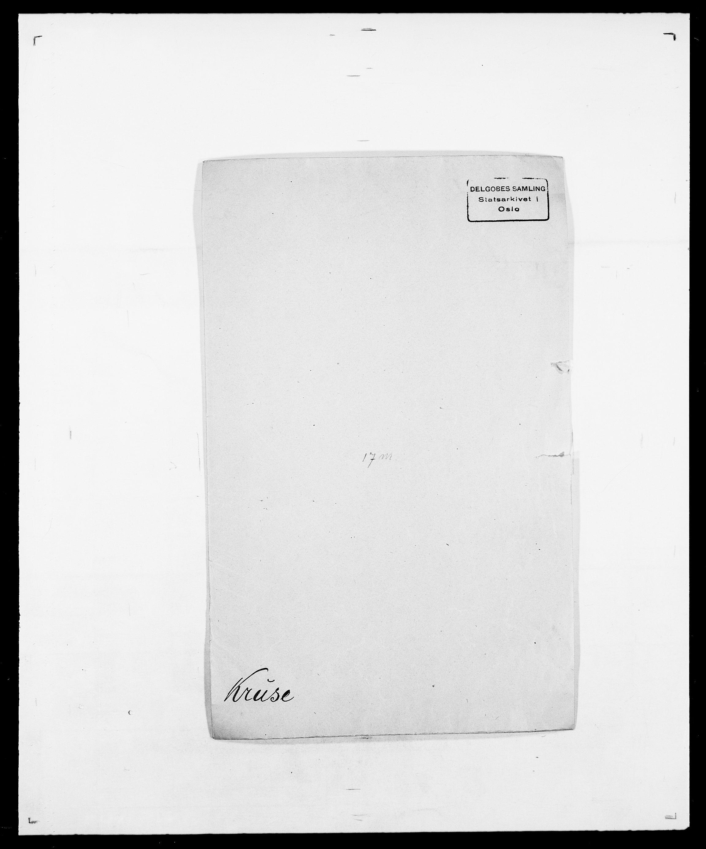 SAO, Delgobe, Charles Antoine - samling, D/Da/L0022: Krog - Lasteen, s. 147