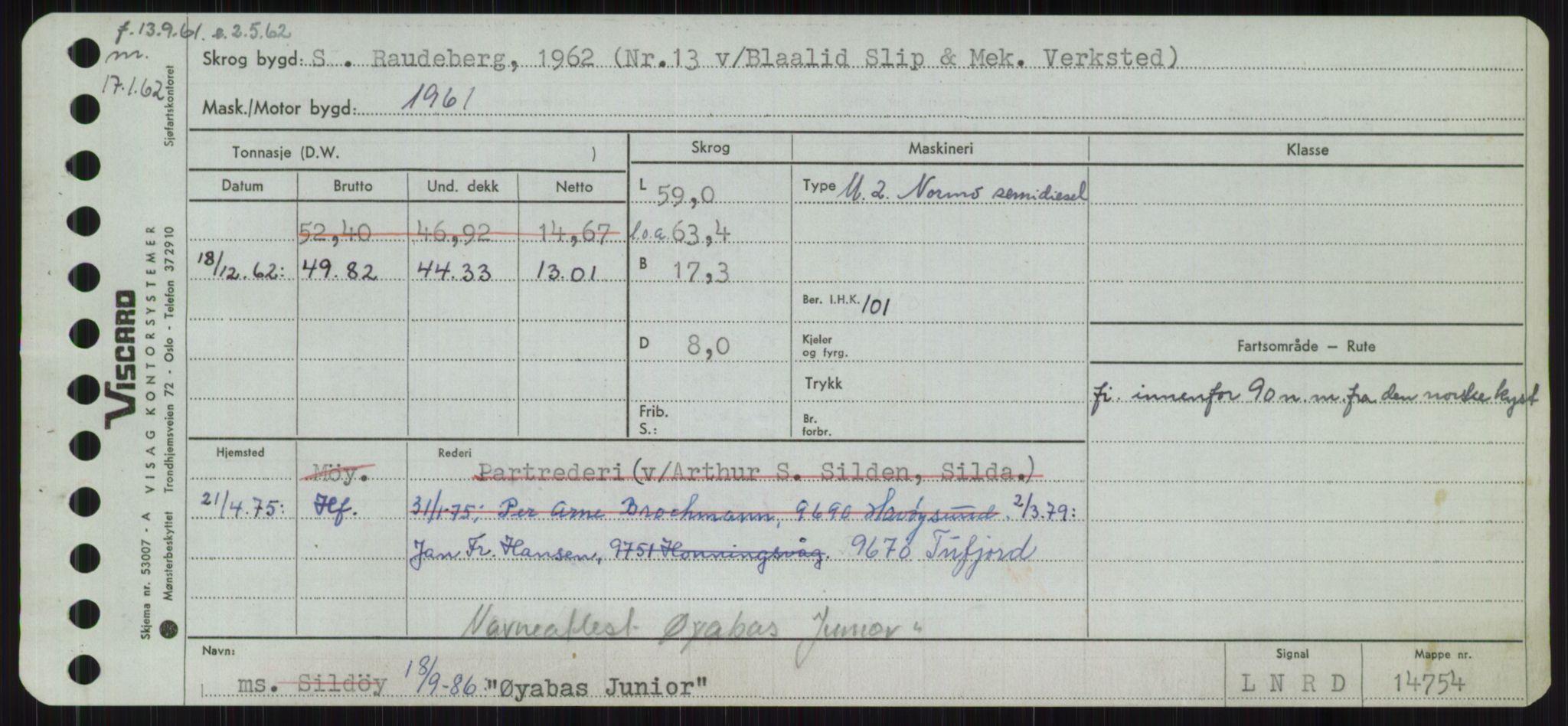 RA, Sjøfartsdirektoratet med forløpere, Skipsmålingen, H/Ha/L0006: Fartøy, Sver-Å, s. 782