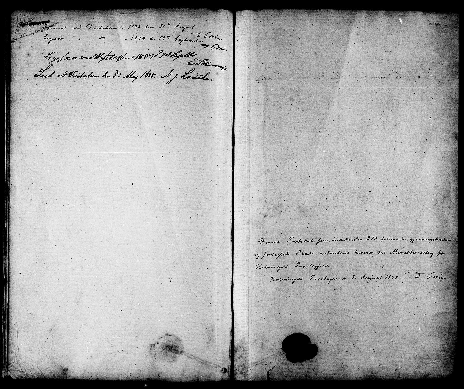 SAT, Ministerialprotokoller, klokkerbøker og fødselsregistre - Nord-Trøndelag, 780/L0642: Ministerialbok nr. 780A07 /1, 1874-1885