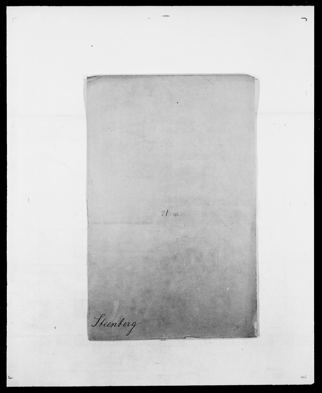 SAO, Delgobe, Charles Antoine - samling, D/Da/L0037: Steen, Sthen, Stein - Svare, Svanige, Svanne, se også Svanning og Schwane, s. 104
