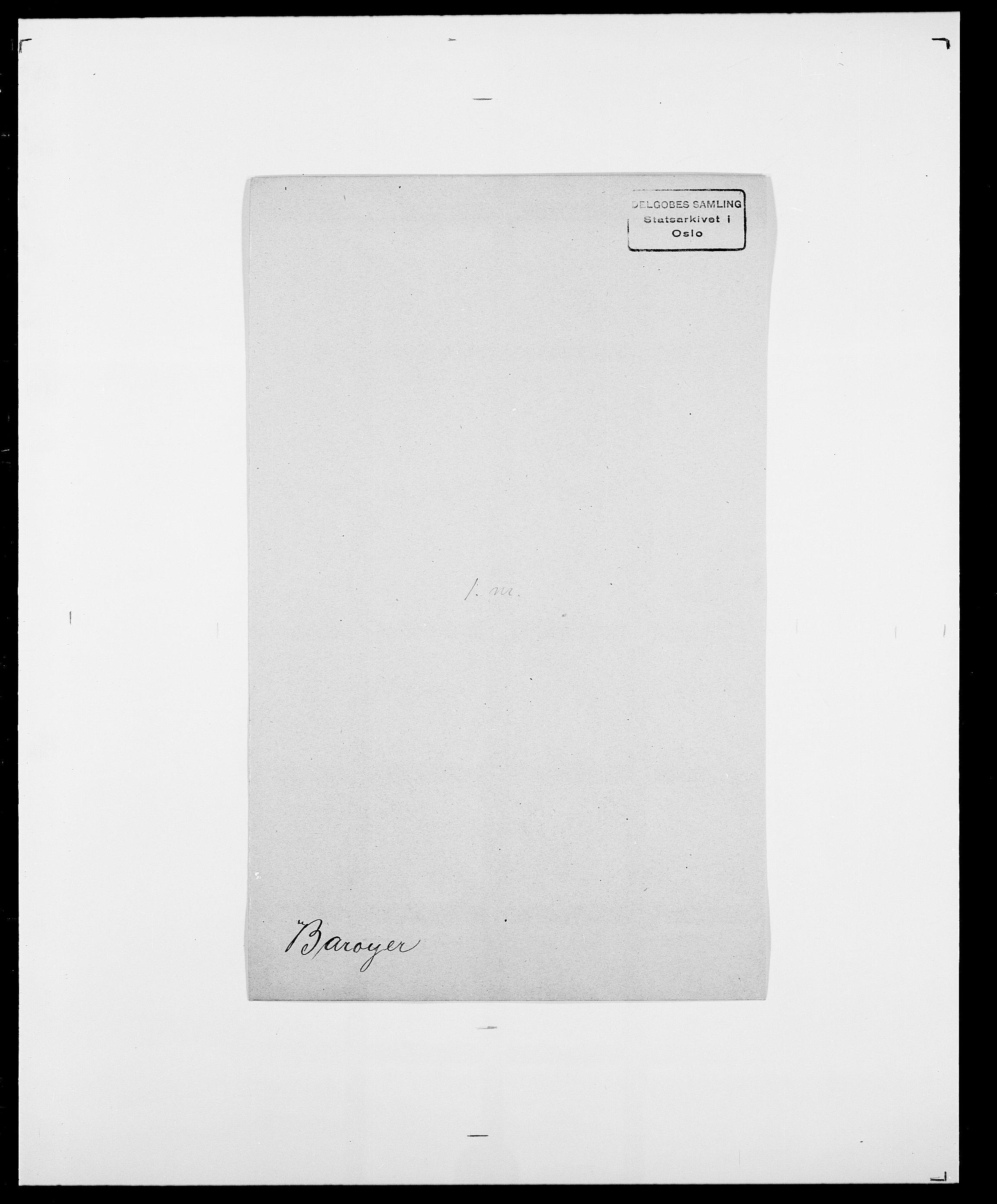 SAO, Delgobe, Charles Antoine - samling, D/Da/L0003: Barca - Bergen, s. 365