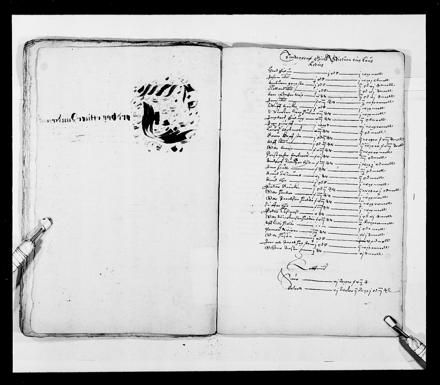 RA, Stattholderembetet 1572-1771, Ek/L0028: Jordebøker 1633-1658:, 1645-1646, s. 106