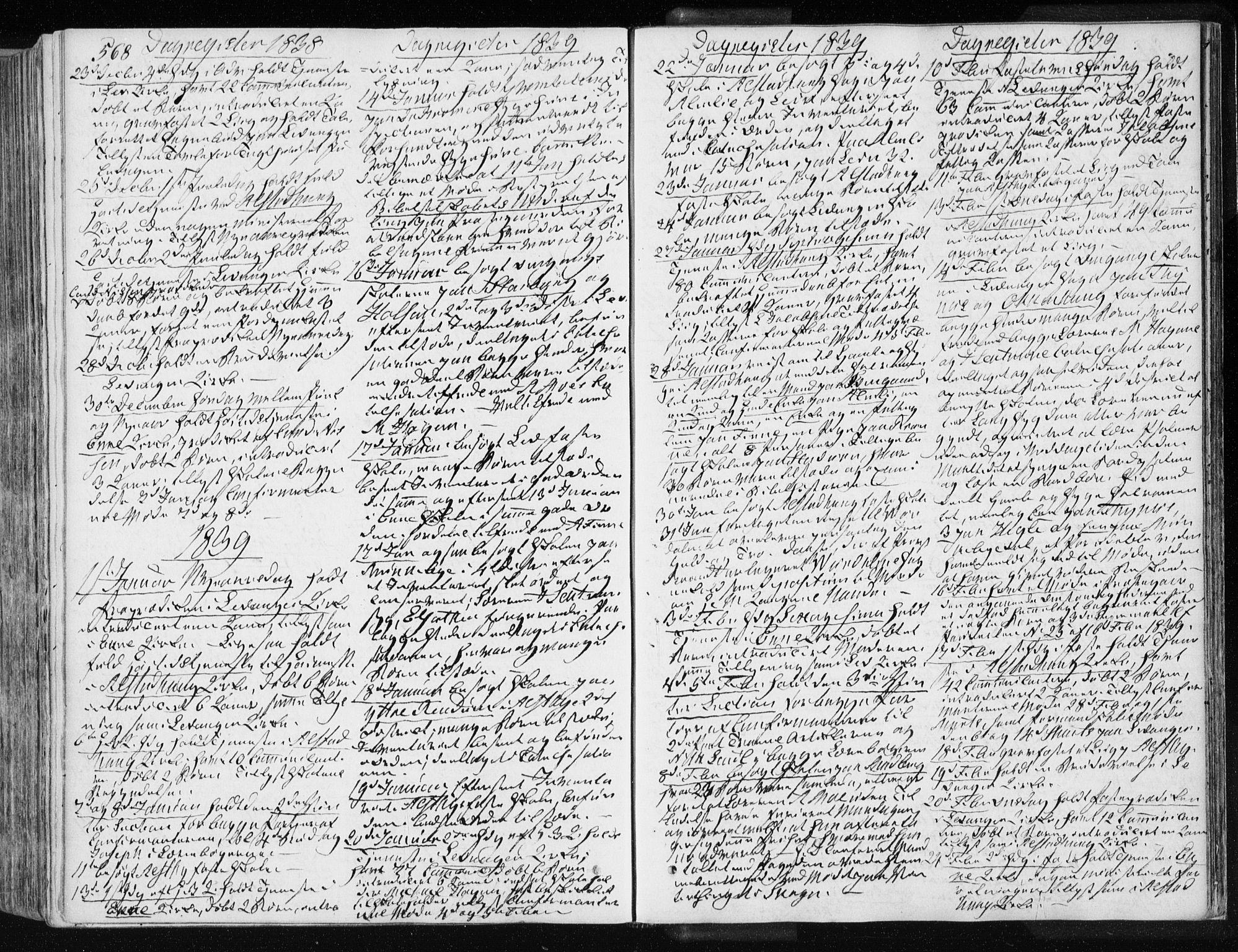 SAT, Ministerialprotokoller, klokkerbøker og fødselsregistre - Nord-Trøndelag, 717/L0154: Ministerialbok nr. 717A06 /1, 1836-1849, s. 568