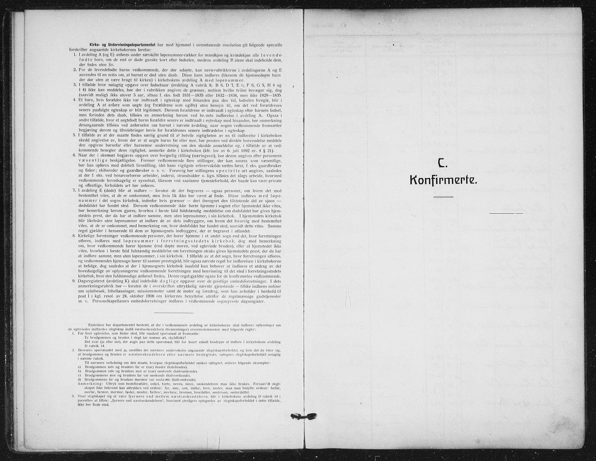 SAO, Sagene prestekontor Kirkebøker, F/L0008: Ministerialbok nr. 8, 1910-1919