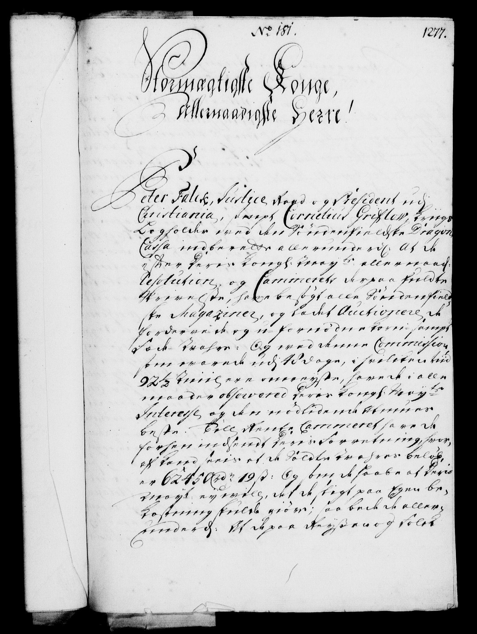 RA, Rentekammeret, Kammerkanselliet, G/Gf/Gfa/L0003: Norsk relasjons- og resolusjonsprotokoll (merket RK 52.3), 1720, s. 251