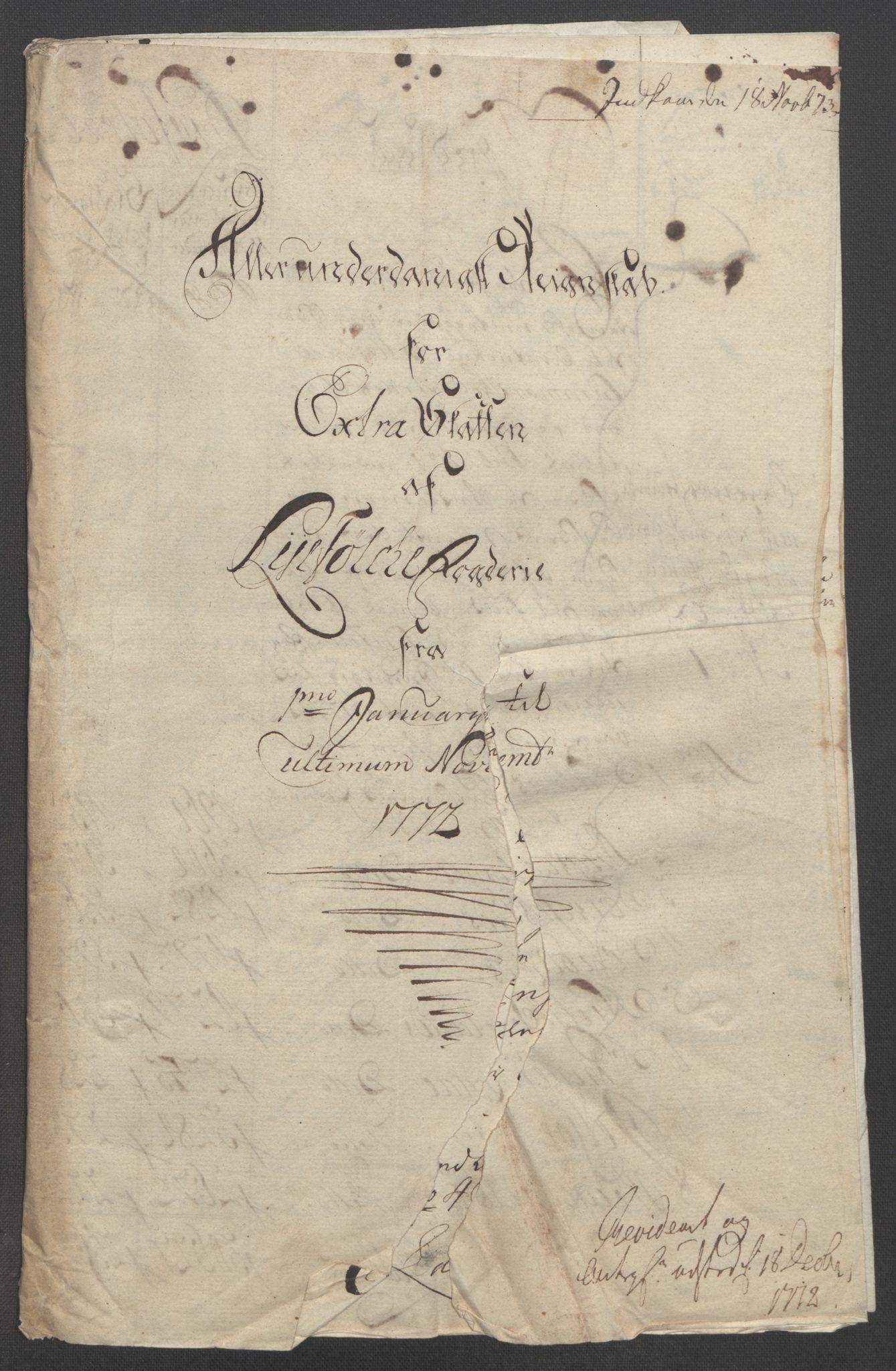 RA, Rentekammeret inntil 1814, Reviderte regnskaper, Fogderegnskap, R47/L2972: Ekstraskatten Ryfylke, 1762-1780, s. 291