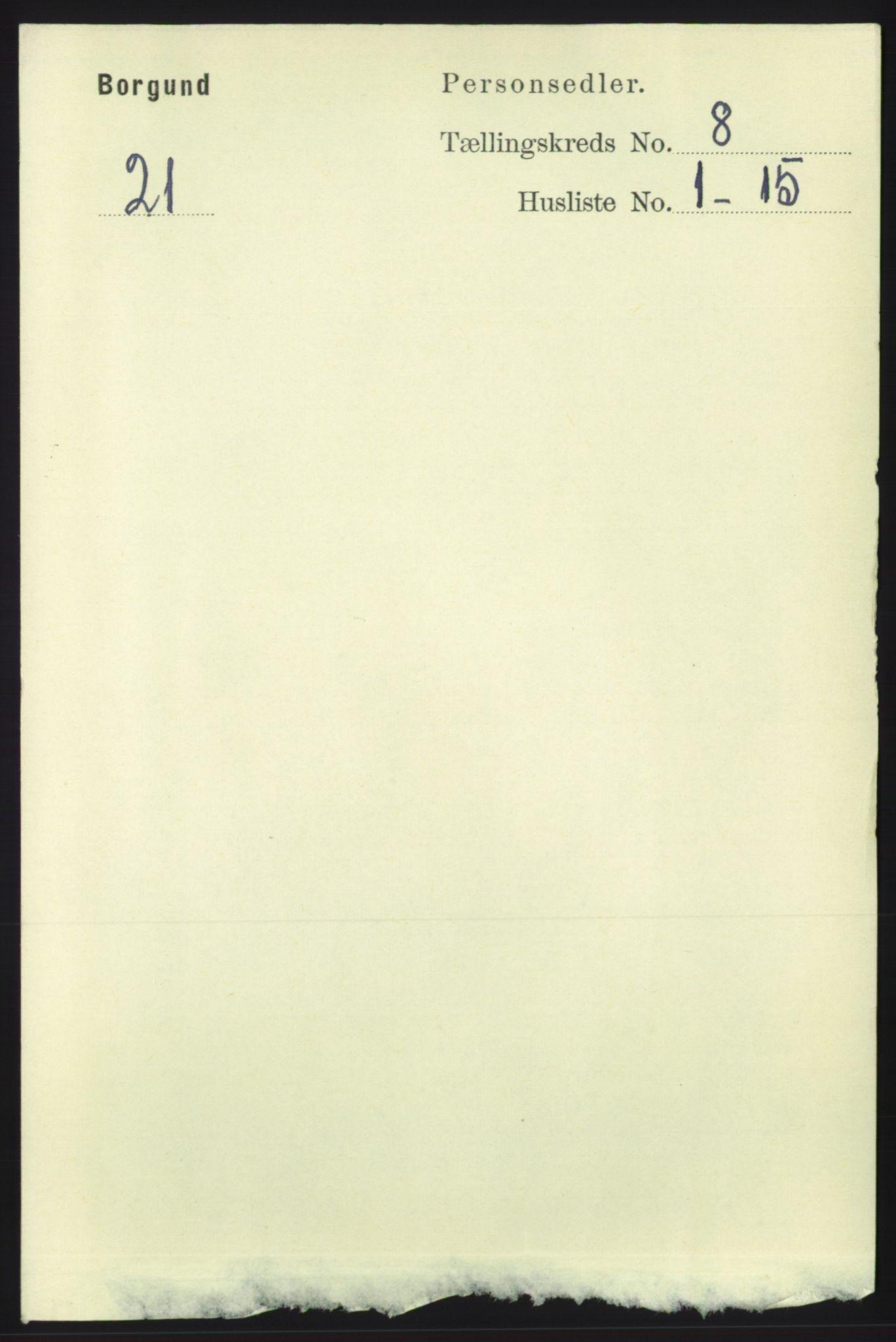 RA, Folketelling 1891 for 1531 Borgund herred, 1891, s. 2123