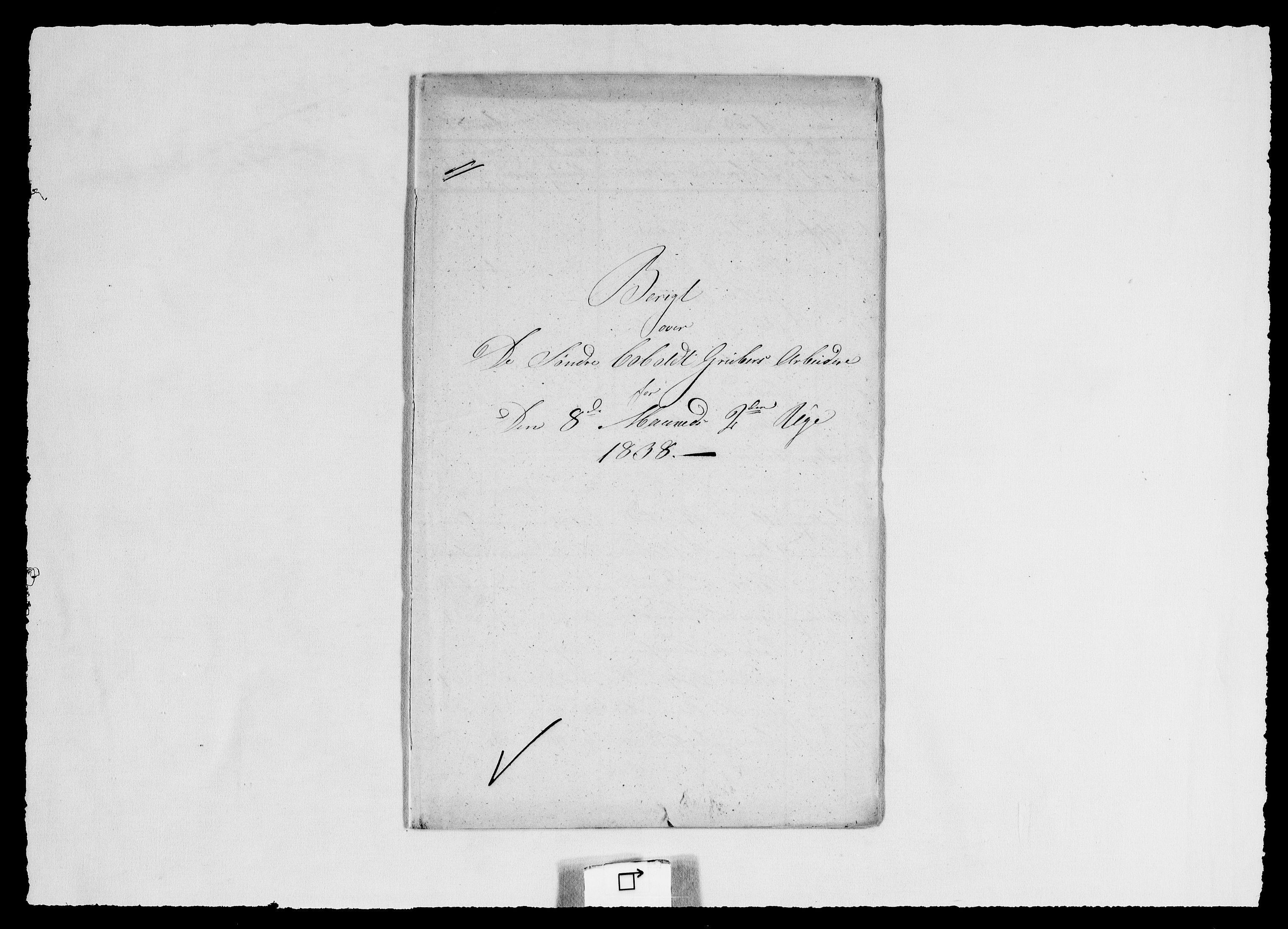 RA, Modums Blaafarveværk, G/Ge/L0353, 1838, s. 2