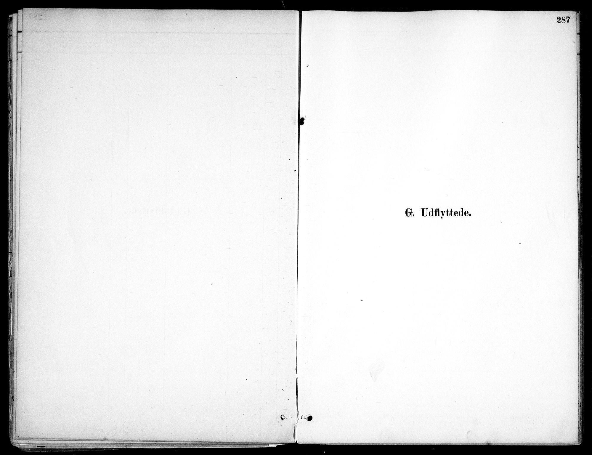 SAO, Nes prestekontor Kirkebøker, F/Fc/L0002: Ministerialbok nr. IIi 2, 1882-1916, s. 287