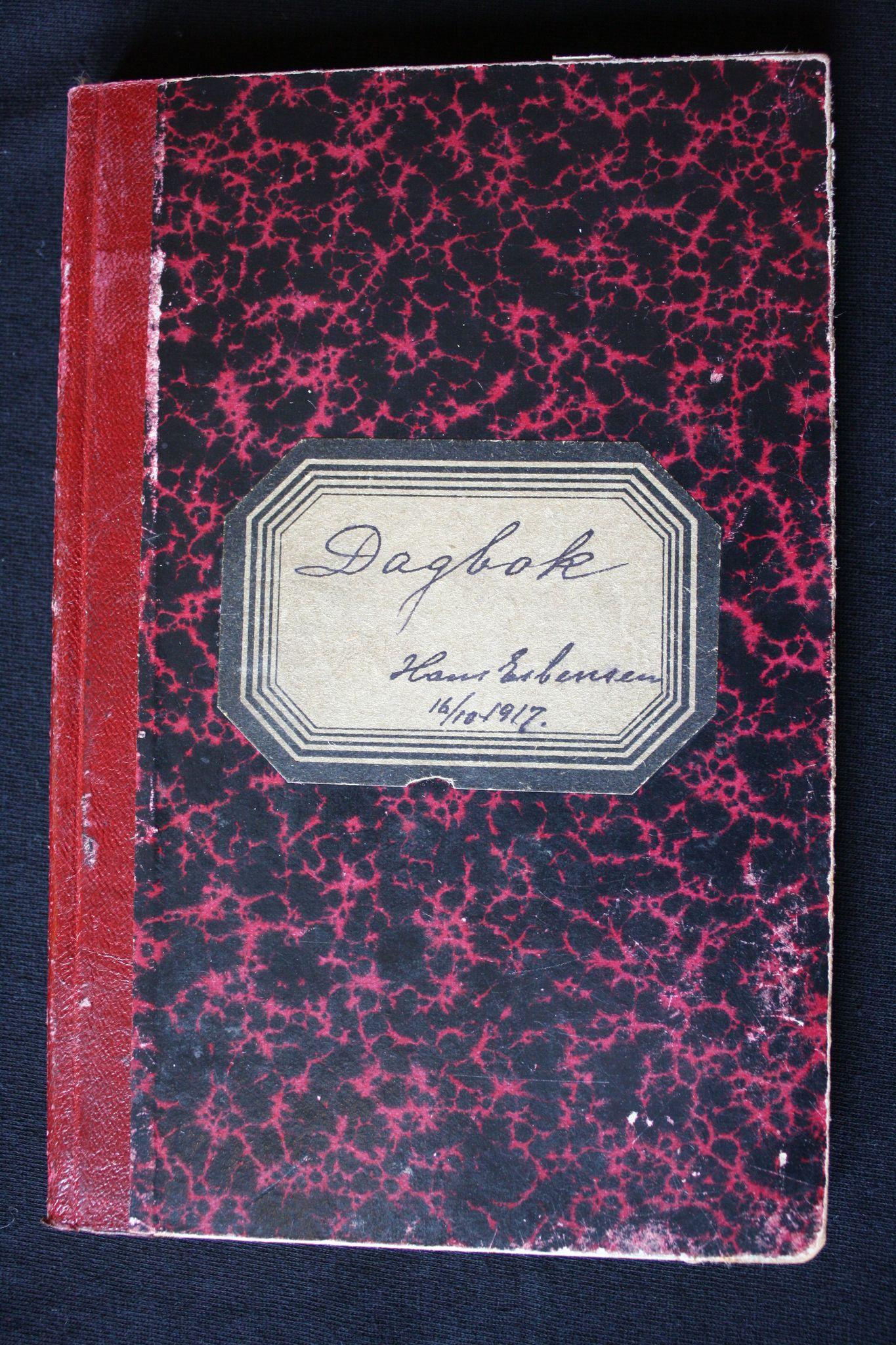 VAMU, Esbensen, Hans Fredrik, F/L0007: Dagbok 1917-1920, 1917-1920