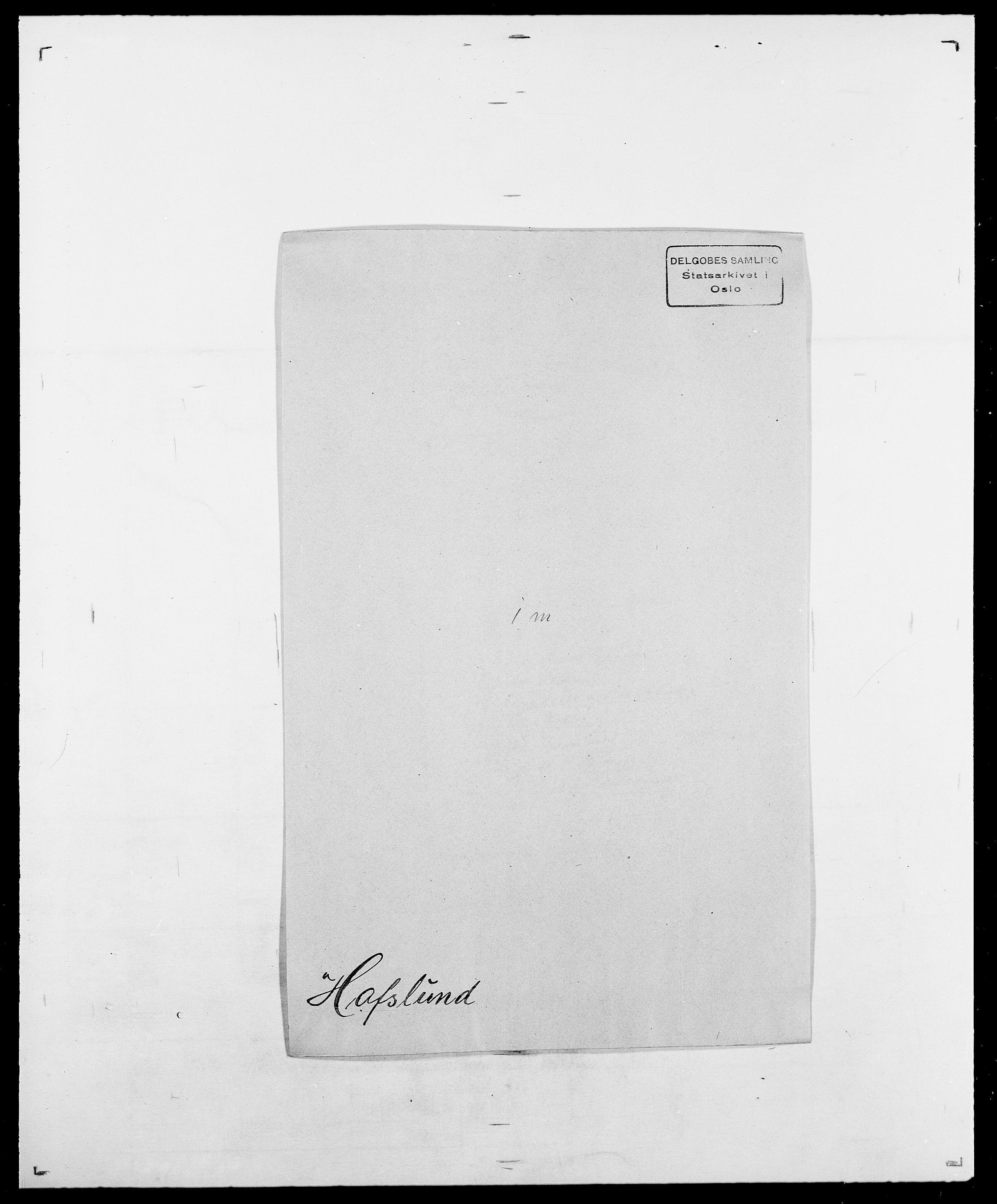 SAO, Delgobe, Charles Antoine - samling, D/Da/L0015: Grodtshilling - Halvorsæth, s. 653