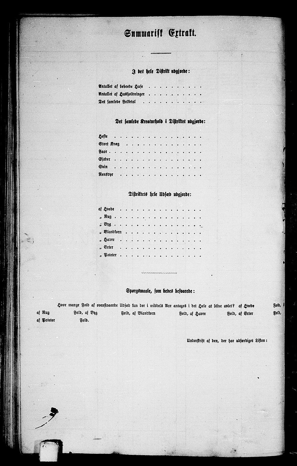 RA, Folketelling 1865 for 1569P Aure prestegjeld, 1865, s. 65