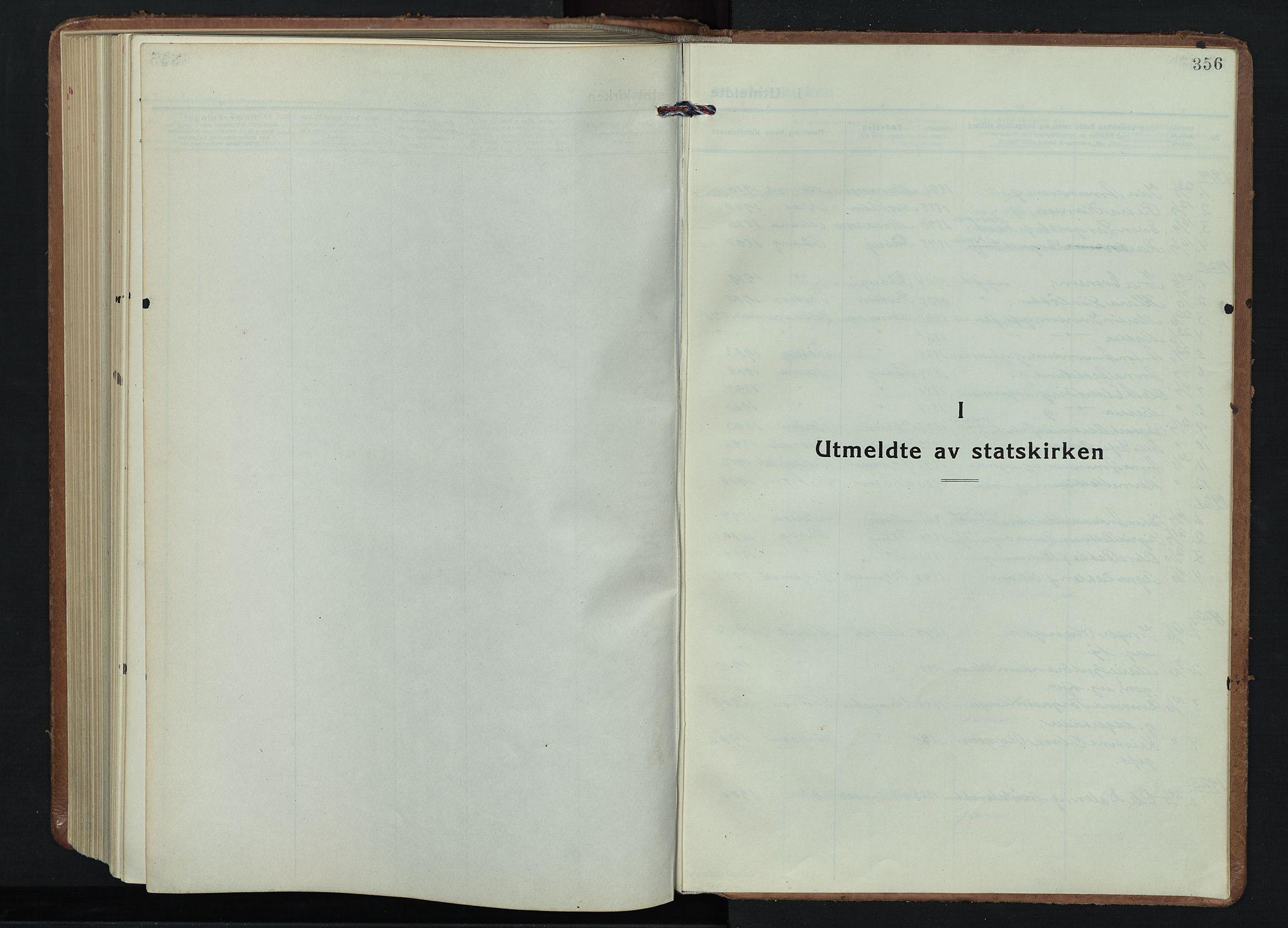 SAH, Fåberg prestekontor, Klokkerbok nr. 15, 1924-1949, s. 356