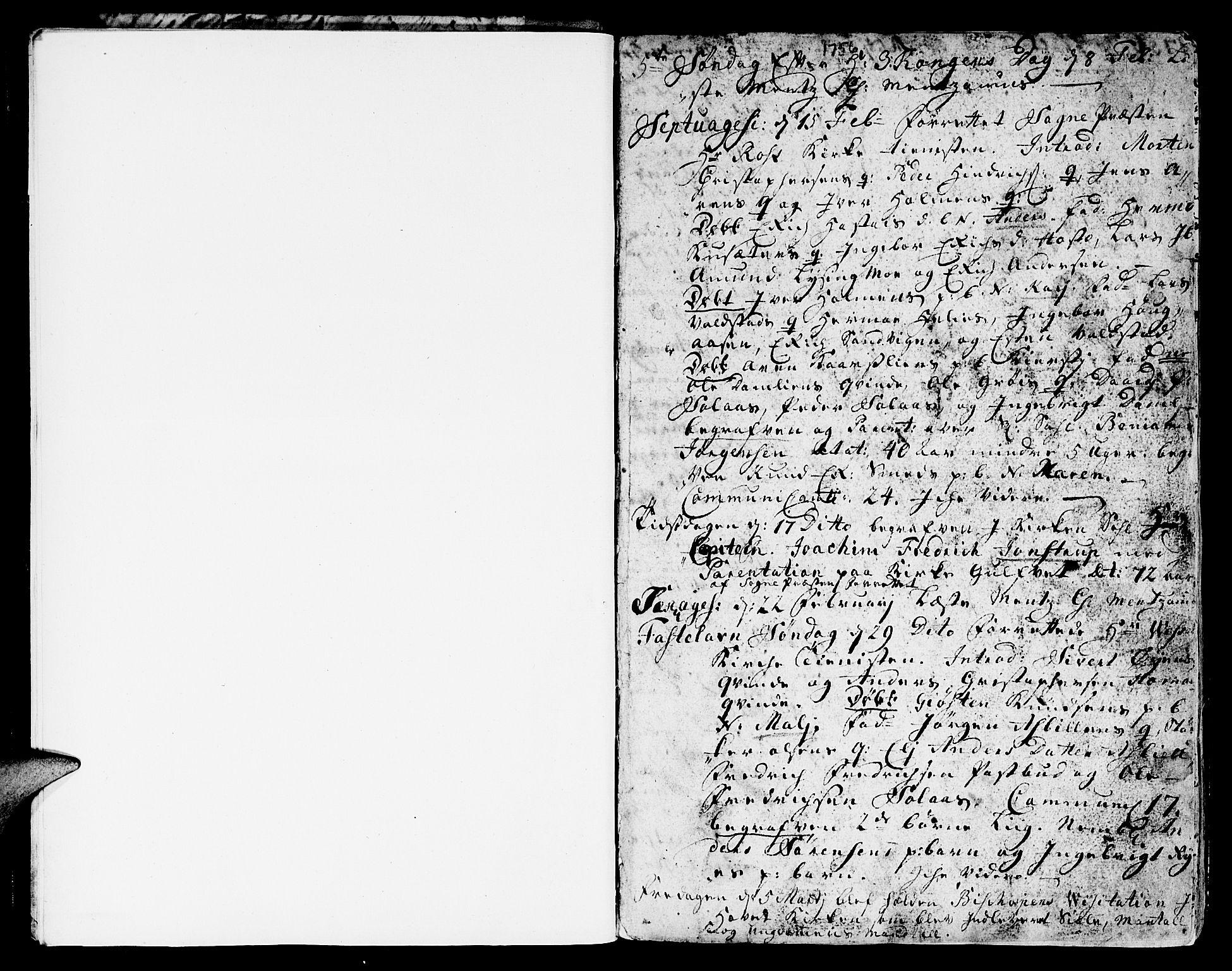 SAT, Ministerialprotokoller, klokkerbøker og fødselsregistre - Sør-Trøndelag, 671/L0840: Ministerialbok nr. 671A02, 1756-1794, s. 2-3