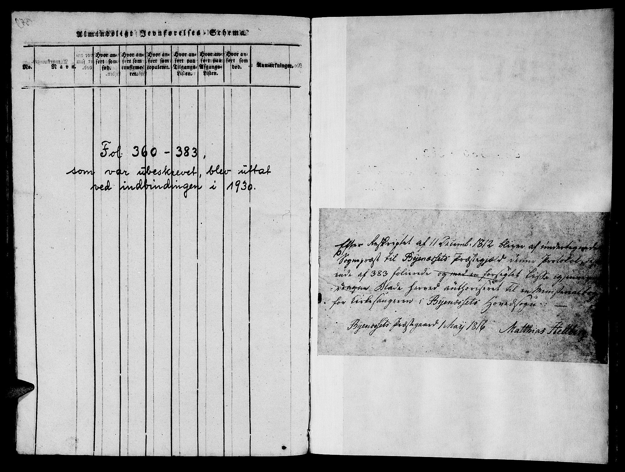 SAT, Ministerialprotokoller, klokkerbøker og fødselsregistre - Sør-Trøndelag, 612/L0385: Klokkerbok nr. 612C01, 1816-1845