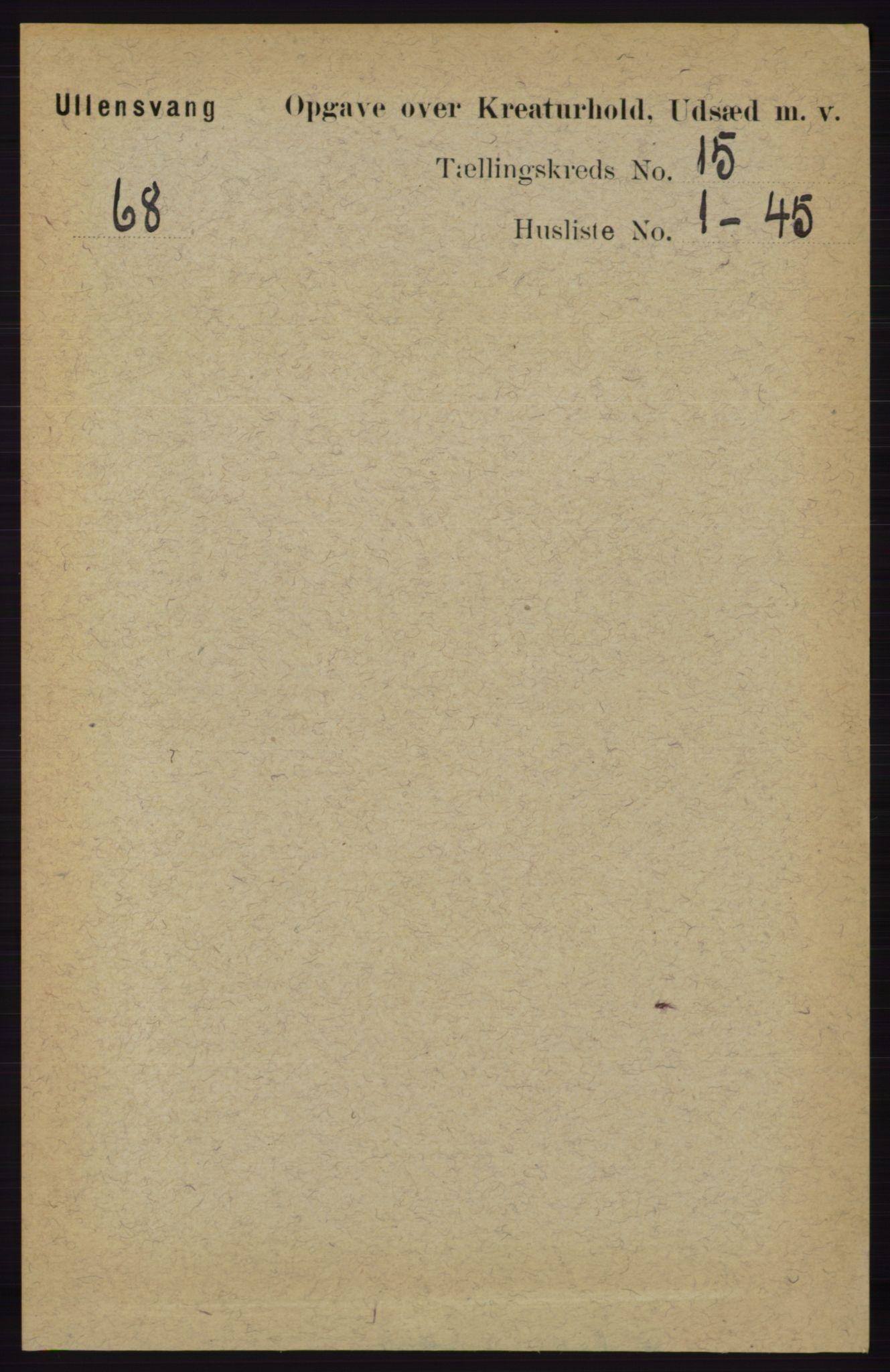RA, Folketelling 1891 for 1230 Ullensvang herred, 1891, s. 8418