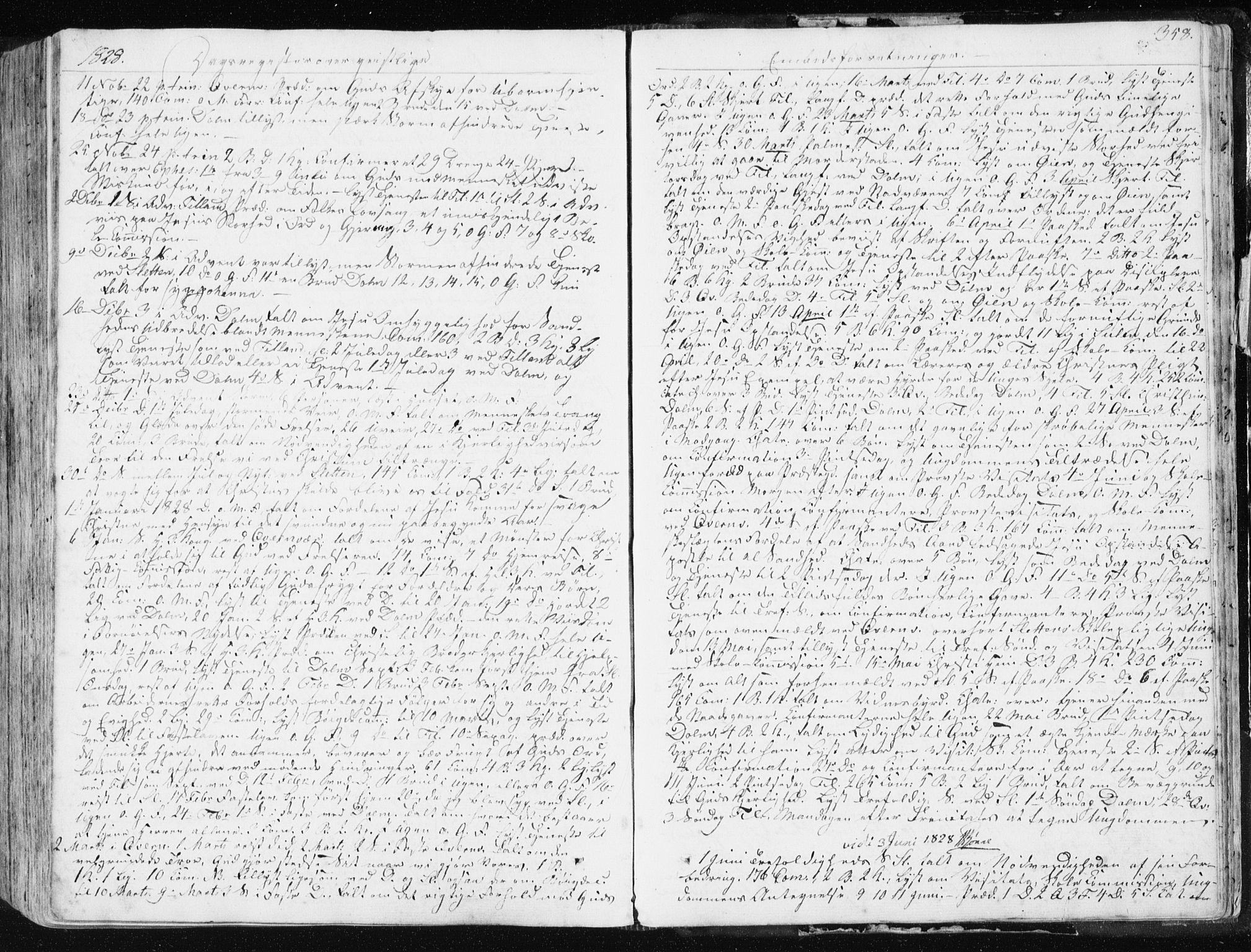 SAT, Ministerialprotokoller, klokkerbøker og fødselsregistre - Sør-Trøndelag, 634/L0528: Ministerialbok nr. 634A04, 1827-1842, s. 358