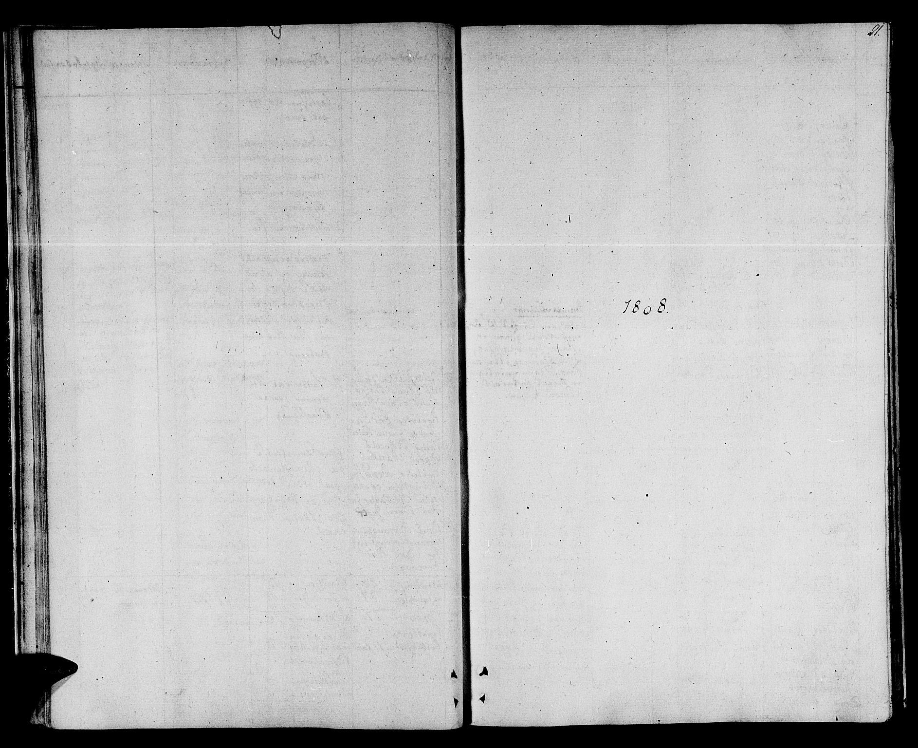 SAT, Ministerialprotokoller, klokkerbøker og fødselsregistre - Sør-Trøndelag, 678/L0894: Ministerialbok nr. 678A04, 1806-1815, s. 21
