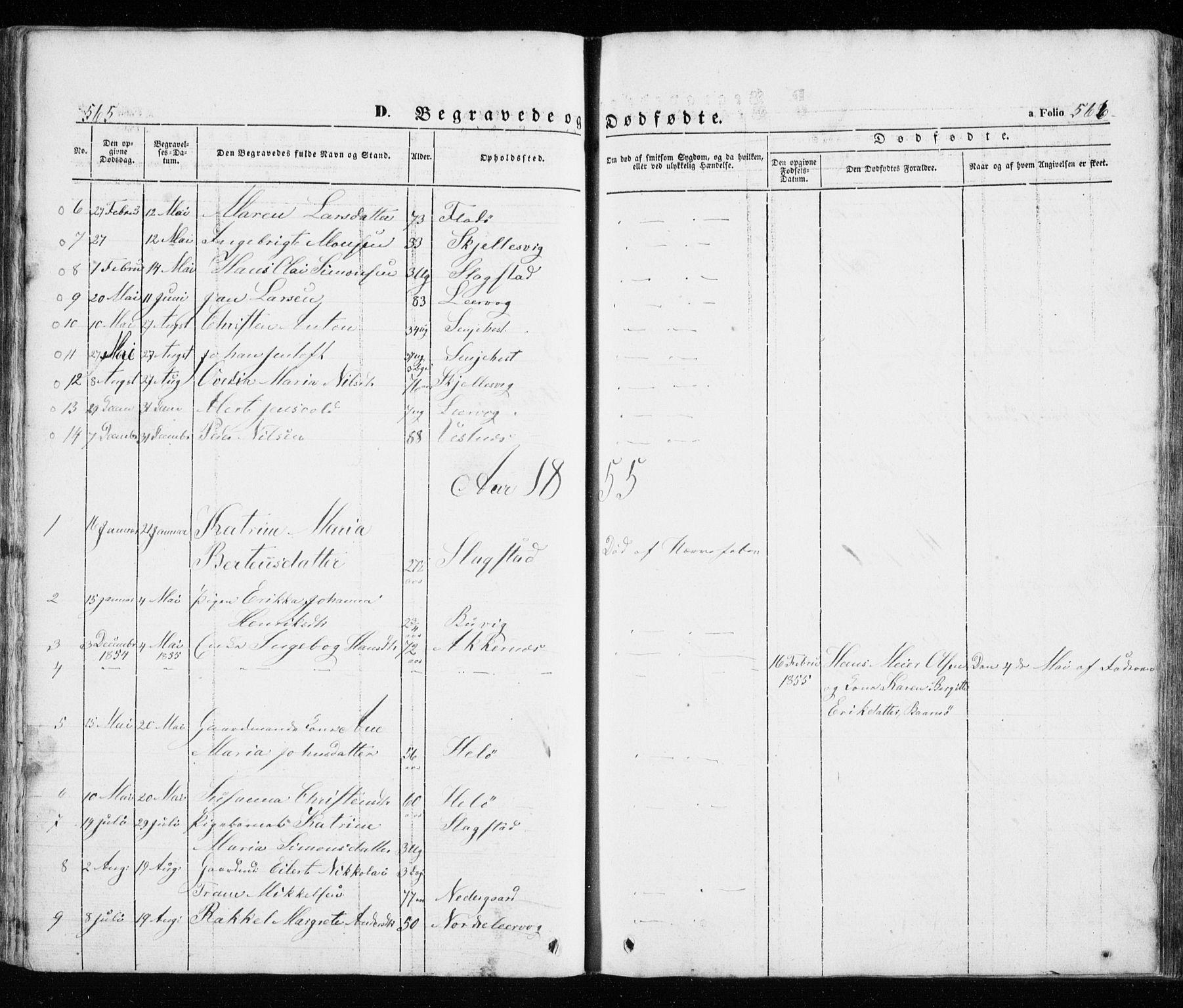 SATØ, Trondenes sokneprestkontor, H/Ha/L0010kirke: Ministerialbok nr. 10, 1840-1865, s. 565-566
