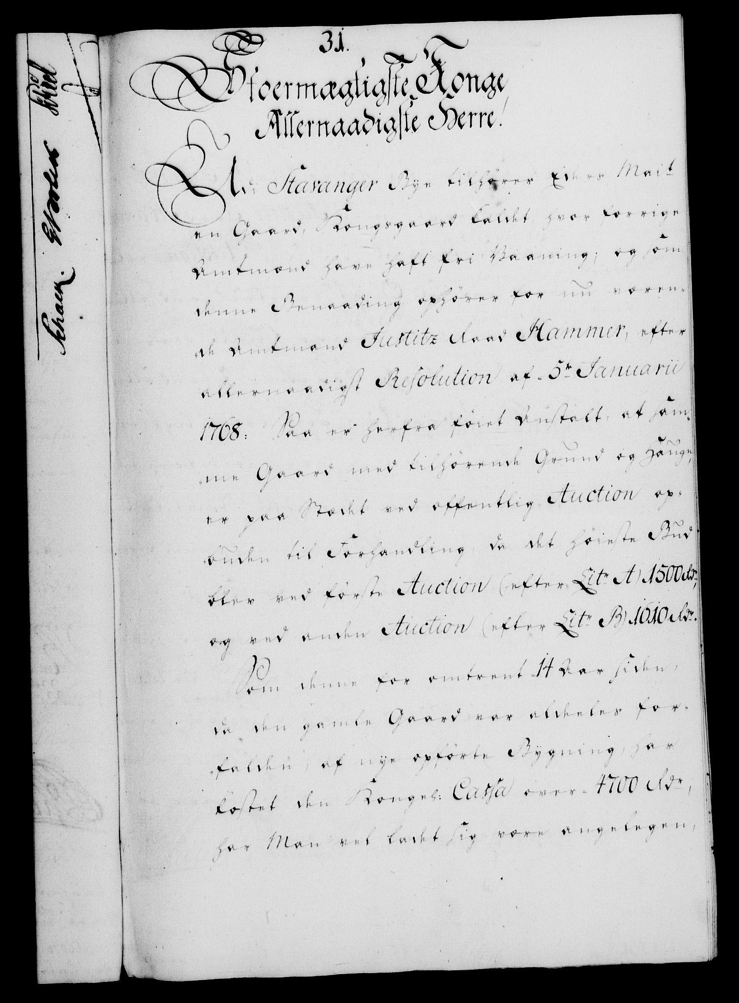 RA, Rentekammeret, Kammerkanselliet, G/Gf/Gfa/L0051: Norsk relasjons- og resolusjonsprotokoll (merket RK 52.51), 1769, s. 163