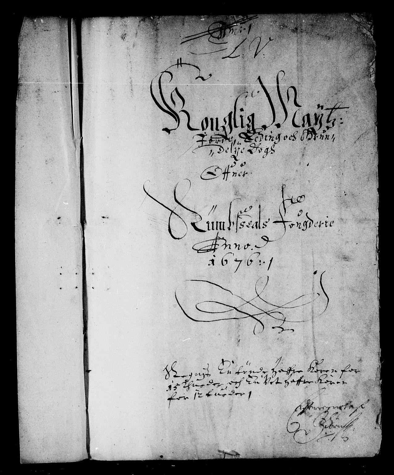 RA, Rentekammeret inntil 1814, Reviderte regnskaper, Stiftamtstueregnskaper, Trondheim stiftamt og Nordland amt, R/Rd/L0044: Trondheim stiftamt, 1671-1676