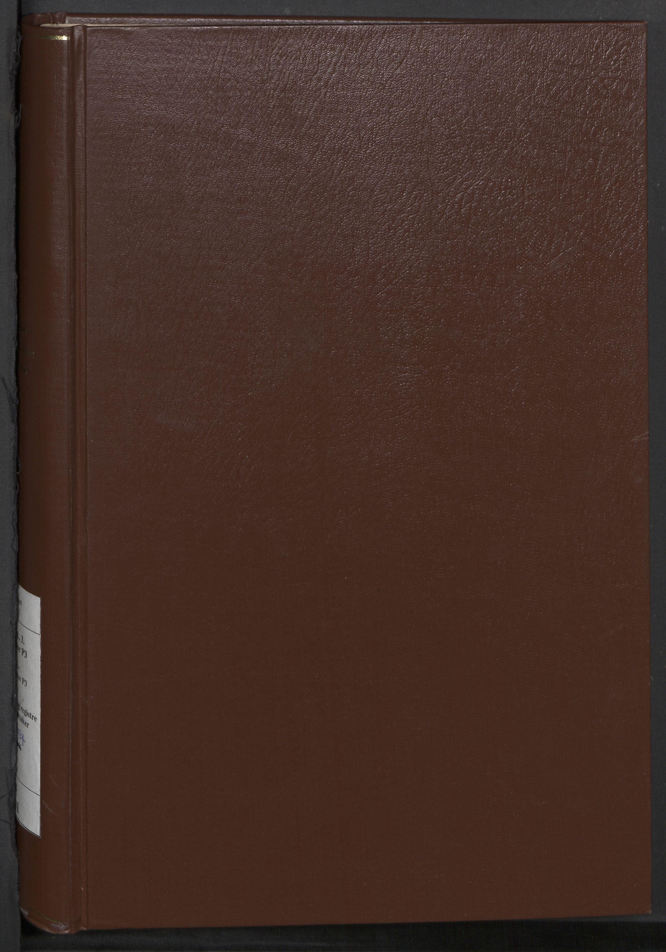 RA, Justisdepartementet, 3. politikontor P3, C/Cc/L0001: Journal over statsborgersaker, 1891-1946