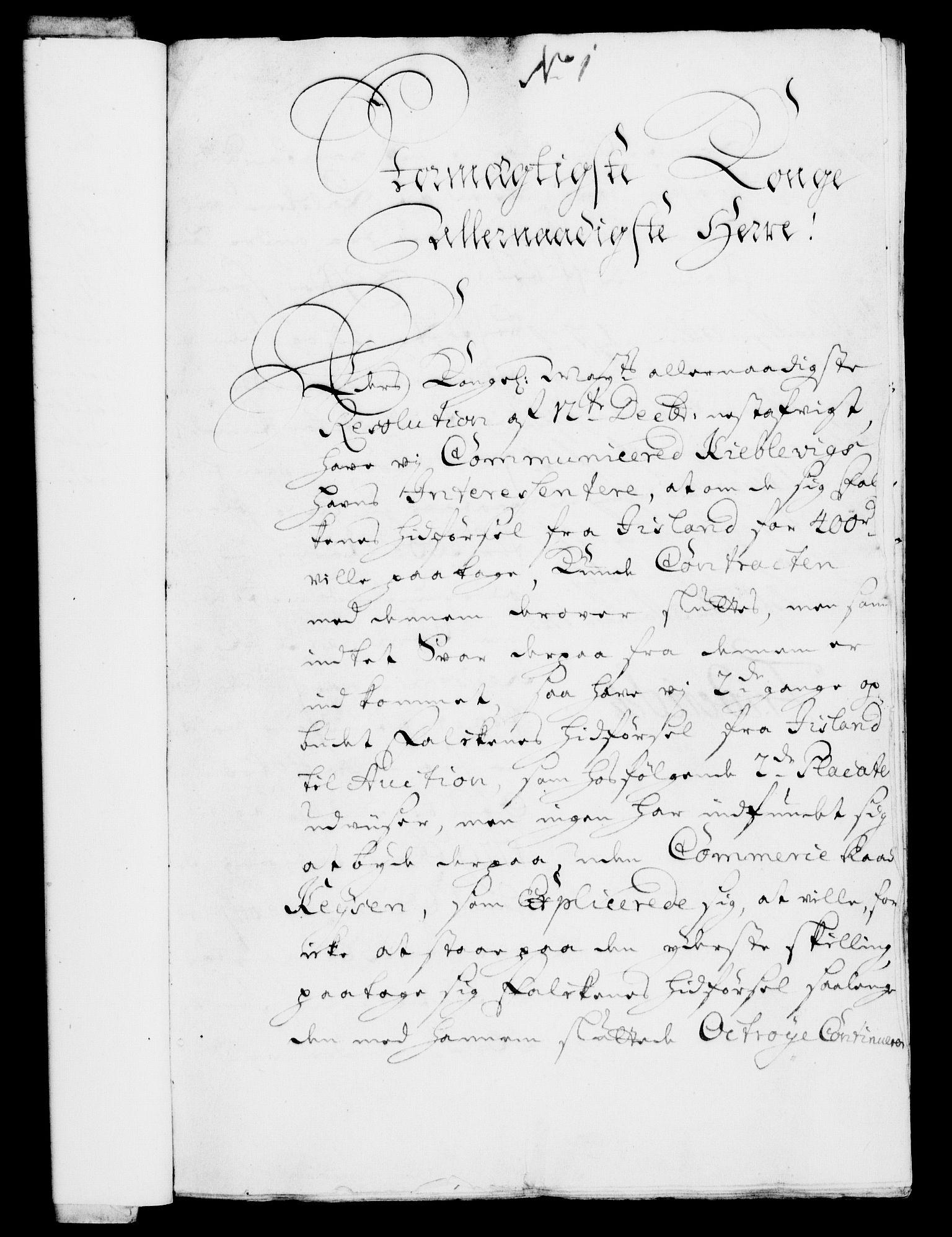 RA, Rentekammeret, Kammerkanselliet, G/Gf/Gfa/L0008: Norsk relasjons- og resolusjonsprotokoll (merket RK 52.8), 1725, s. 24