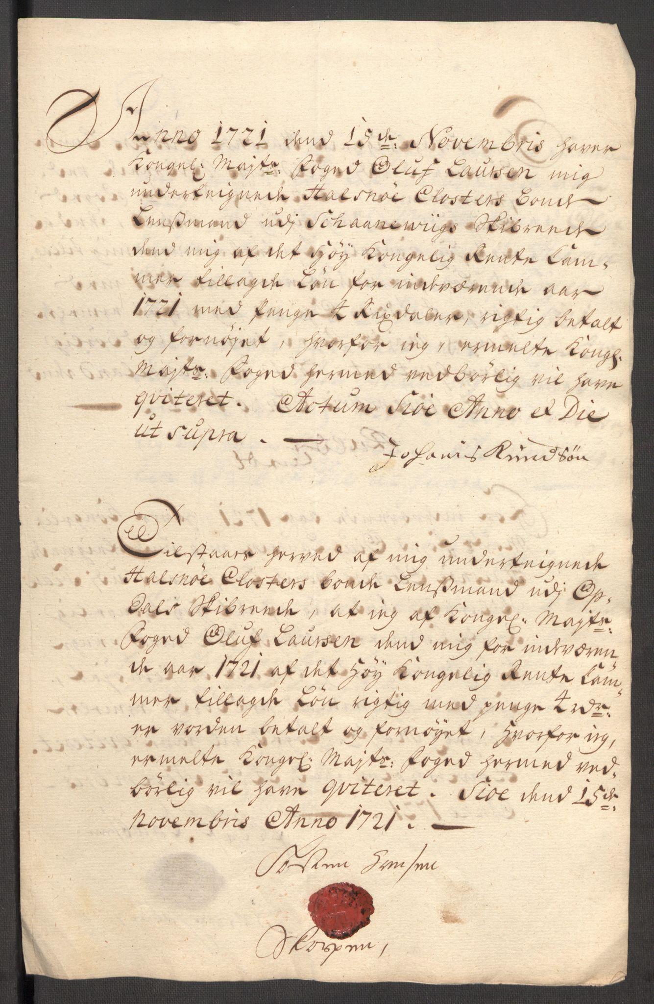RA, Rentekammeret inntil 1814, Reviderte regnskaper, Fogderegnskap, R48/L3000: Fogderegnskap Sunnhordland og Hardanger, 1721, s. 412